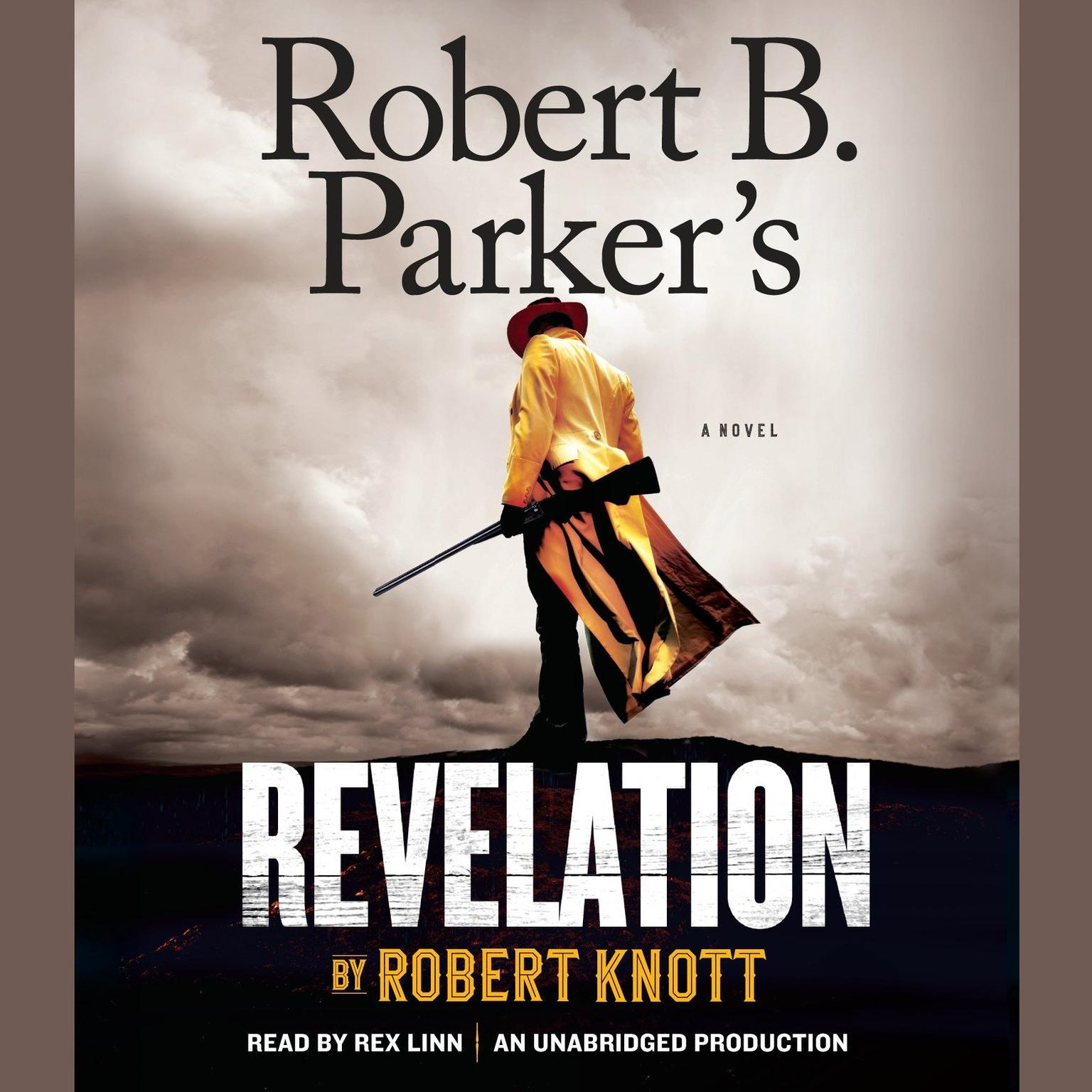 Printable Robert B. Parker's Revelation Audiobook Cover Art