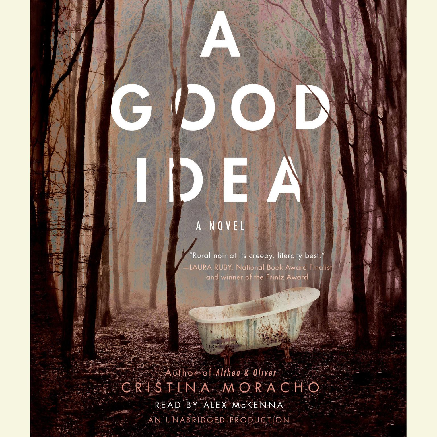 Printable A Good Idea Audiobook Cover Art