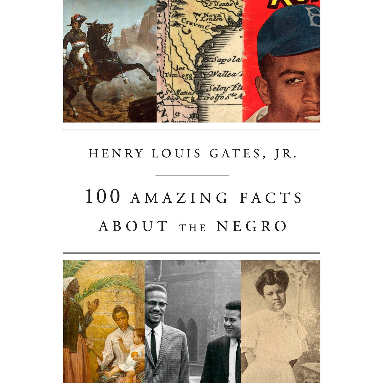 Printable 100 Amazing Facts About the Negro Audiobook Cover Art