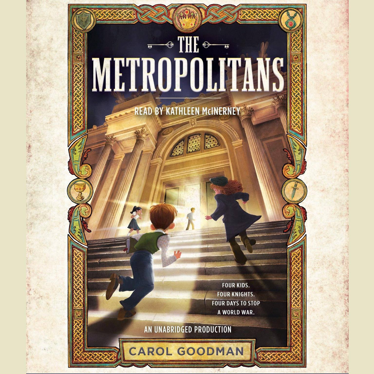 Printable The Metropolitans Audiobook Cover Art
