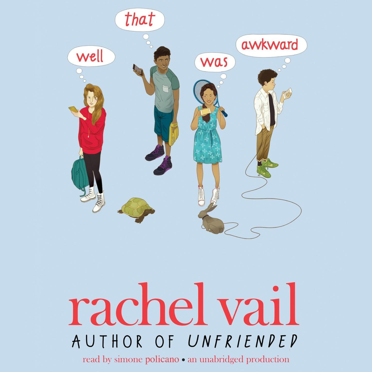 Printable Well, That Was Awkward Audiobook Cover Art