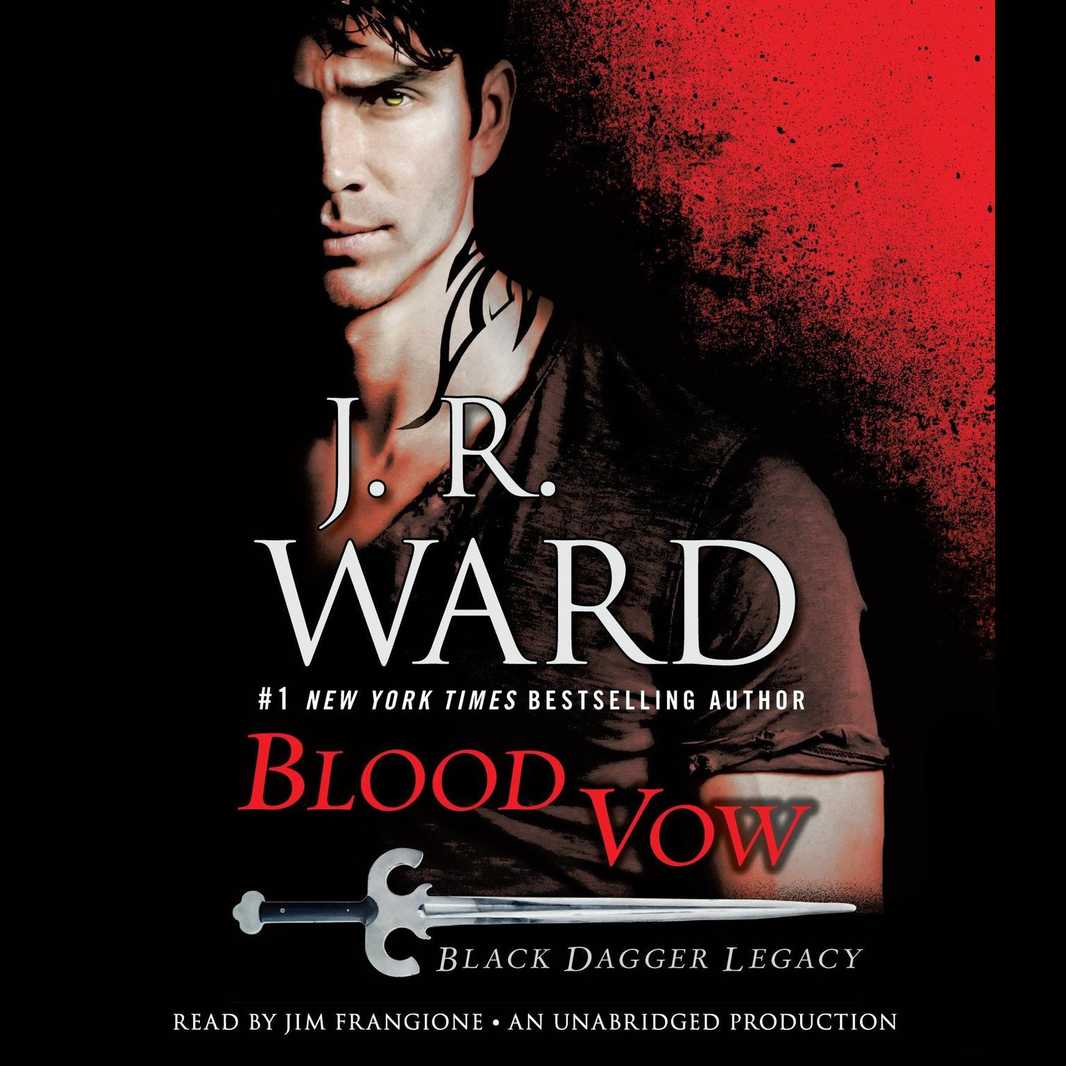 Printable Blood Vow: Black Dagger Legacy Audiobook Cover Art