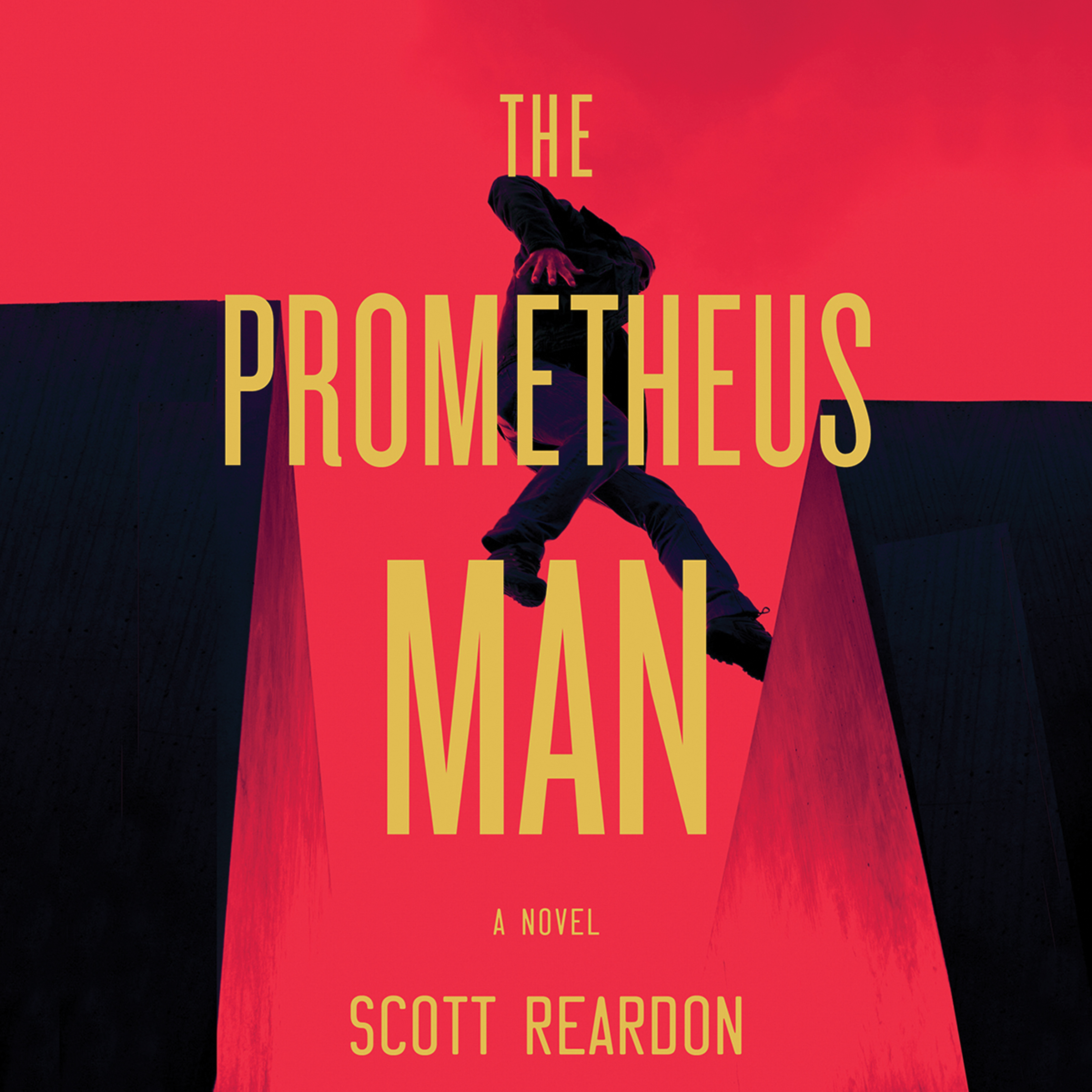 Printable The Prometheus Man Audiobook Cover Art