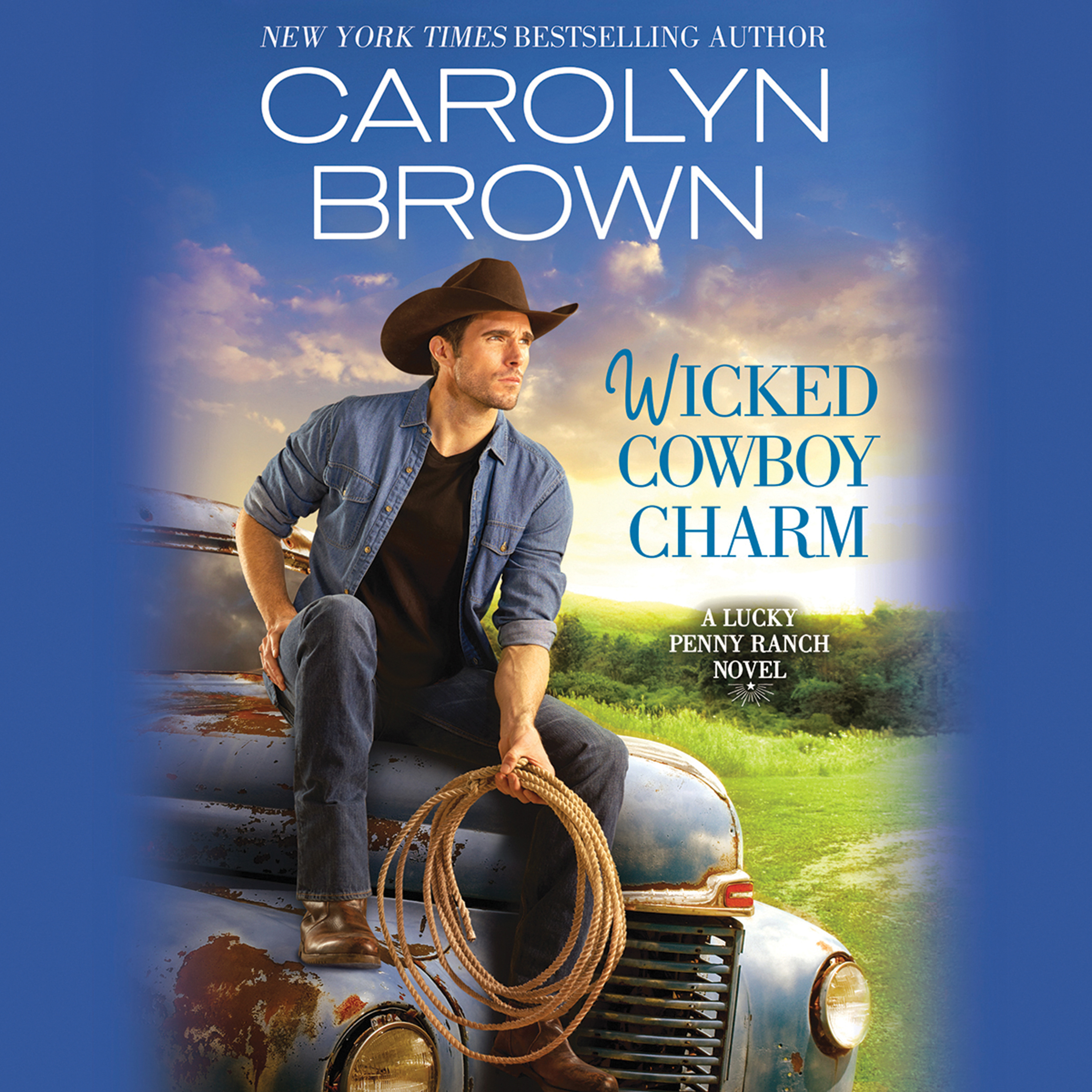 Printable Wicked Cowboy Charm Audiobook Cover Art