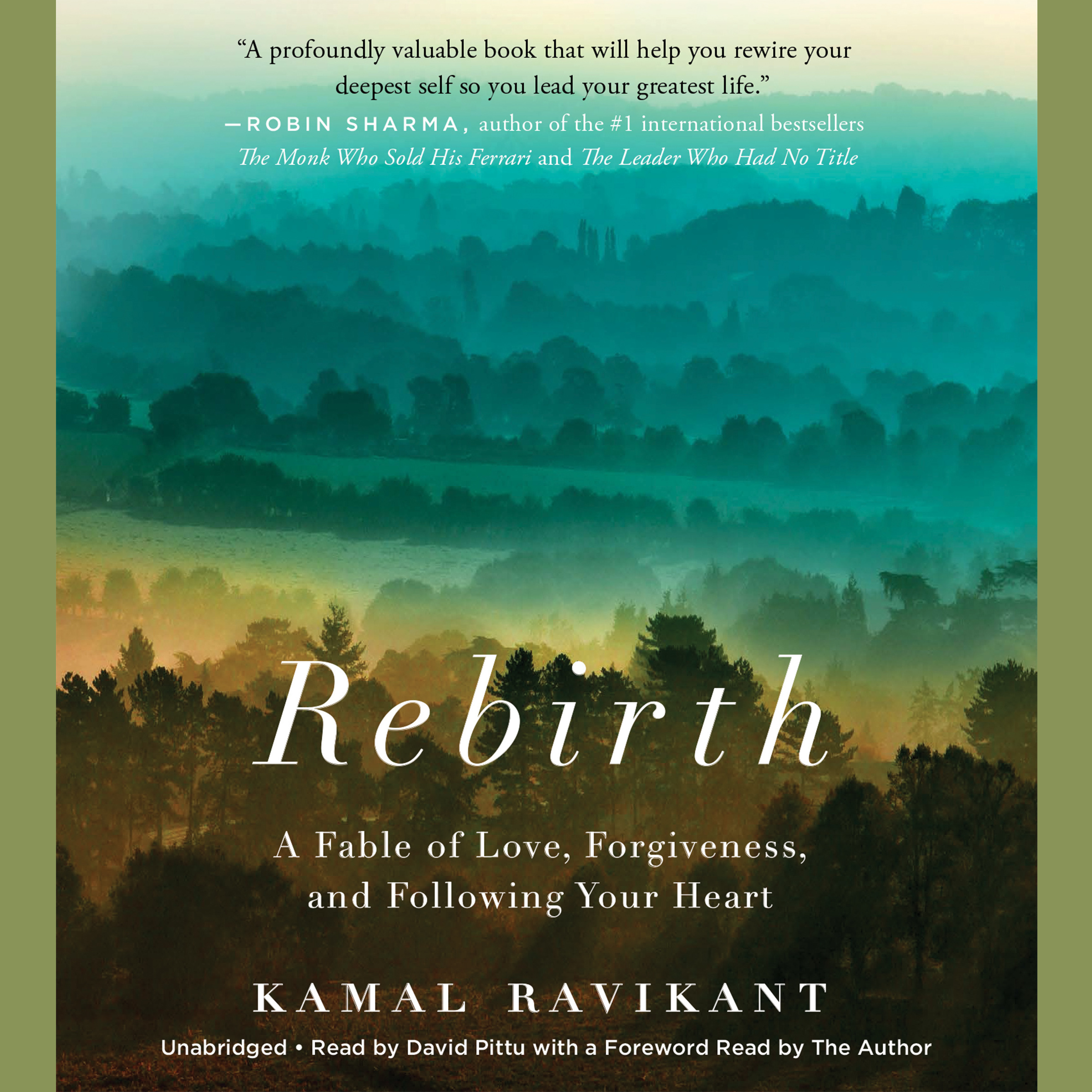 Printable Rebirth: A Fable of Love, Forgiveness, and Following Your Heart Audiobook Cover Art