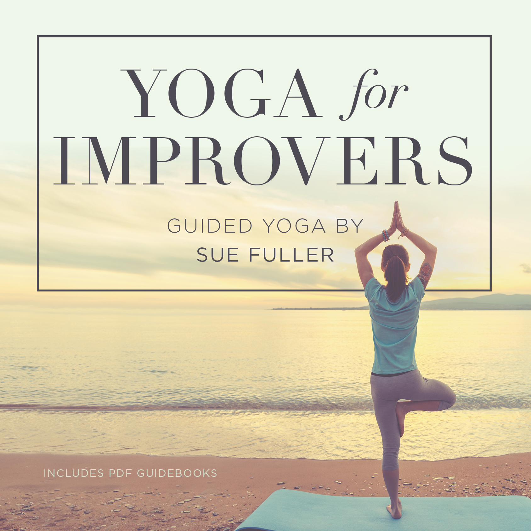Printable Yoga for Improvers  Audiobook Cover Art