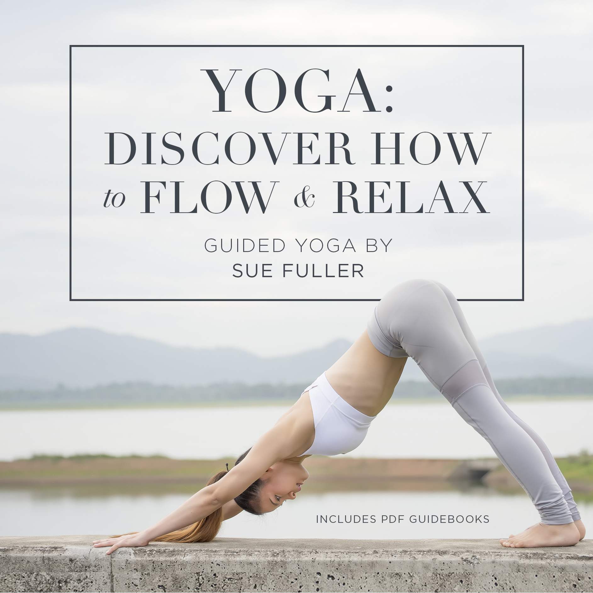 Printable Yoga: Discover How to Flow and Relax Audiobook Cover Art