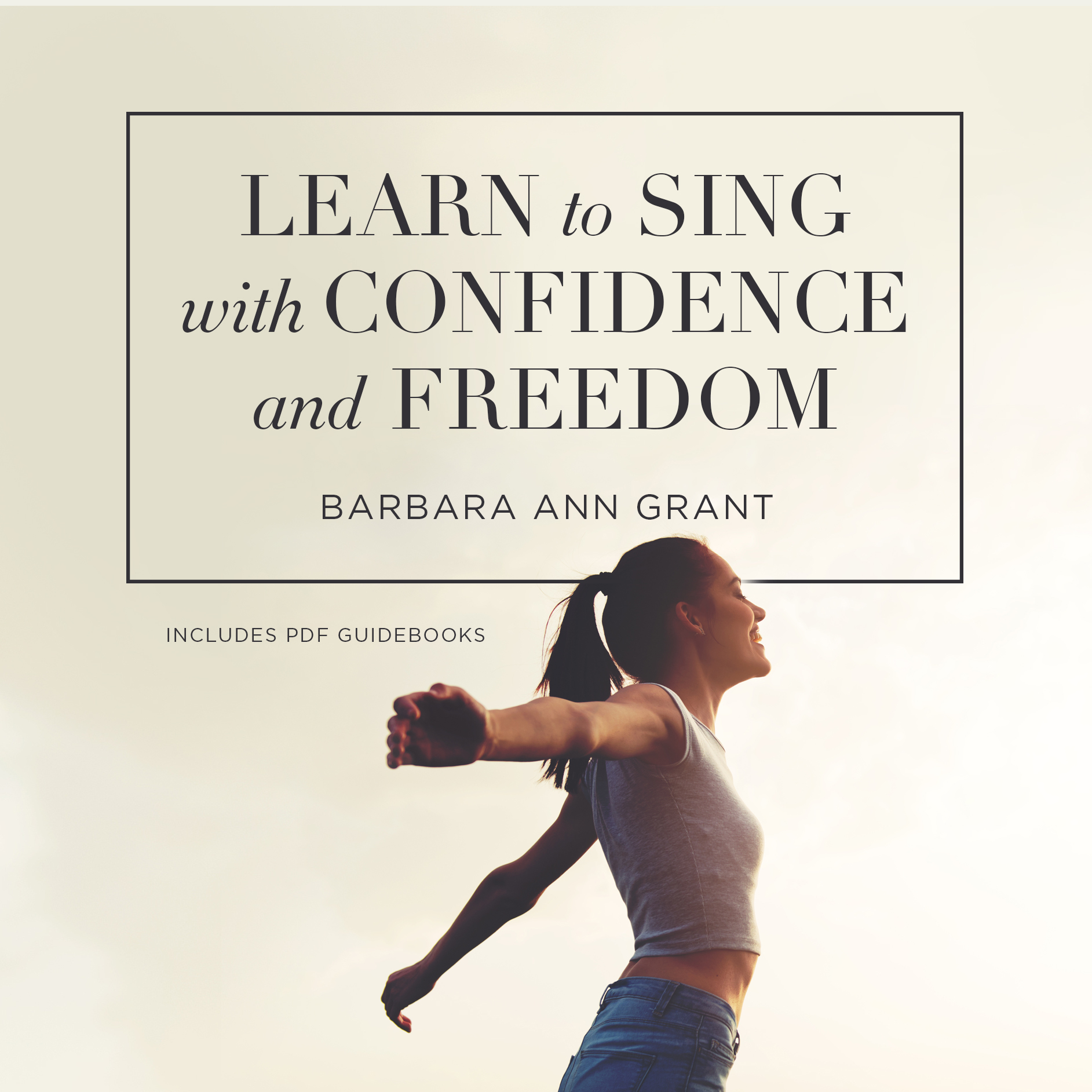 Printable Learn to Sing with Confidence and Freedom  Audiobook Cover Art