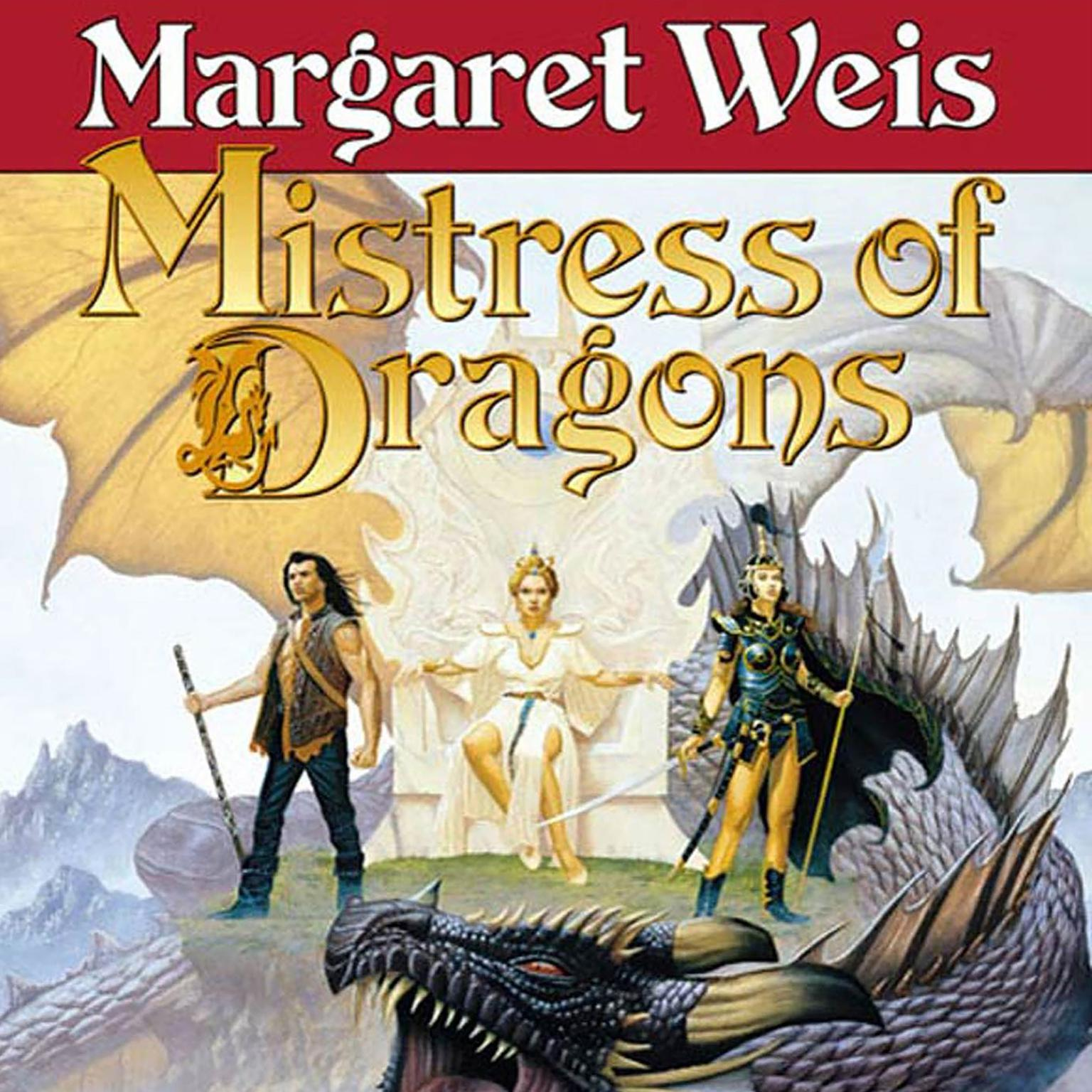 Printable Mistress of Dragons Audiobook Cover Art