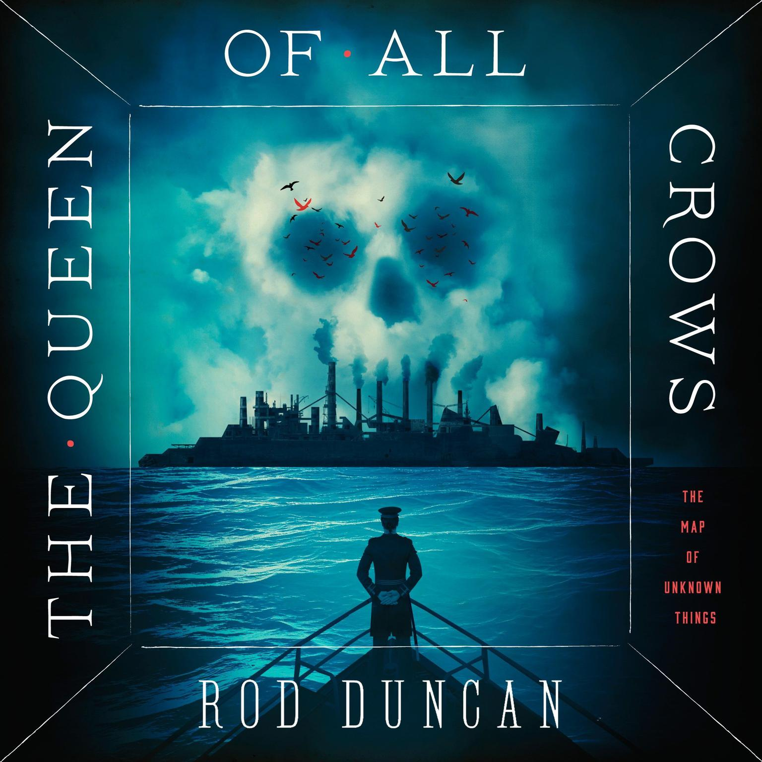 Printable The Queen of All Crows Audiobook Cover Art