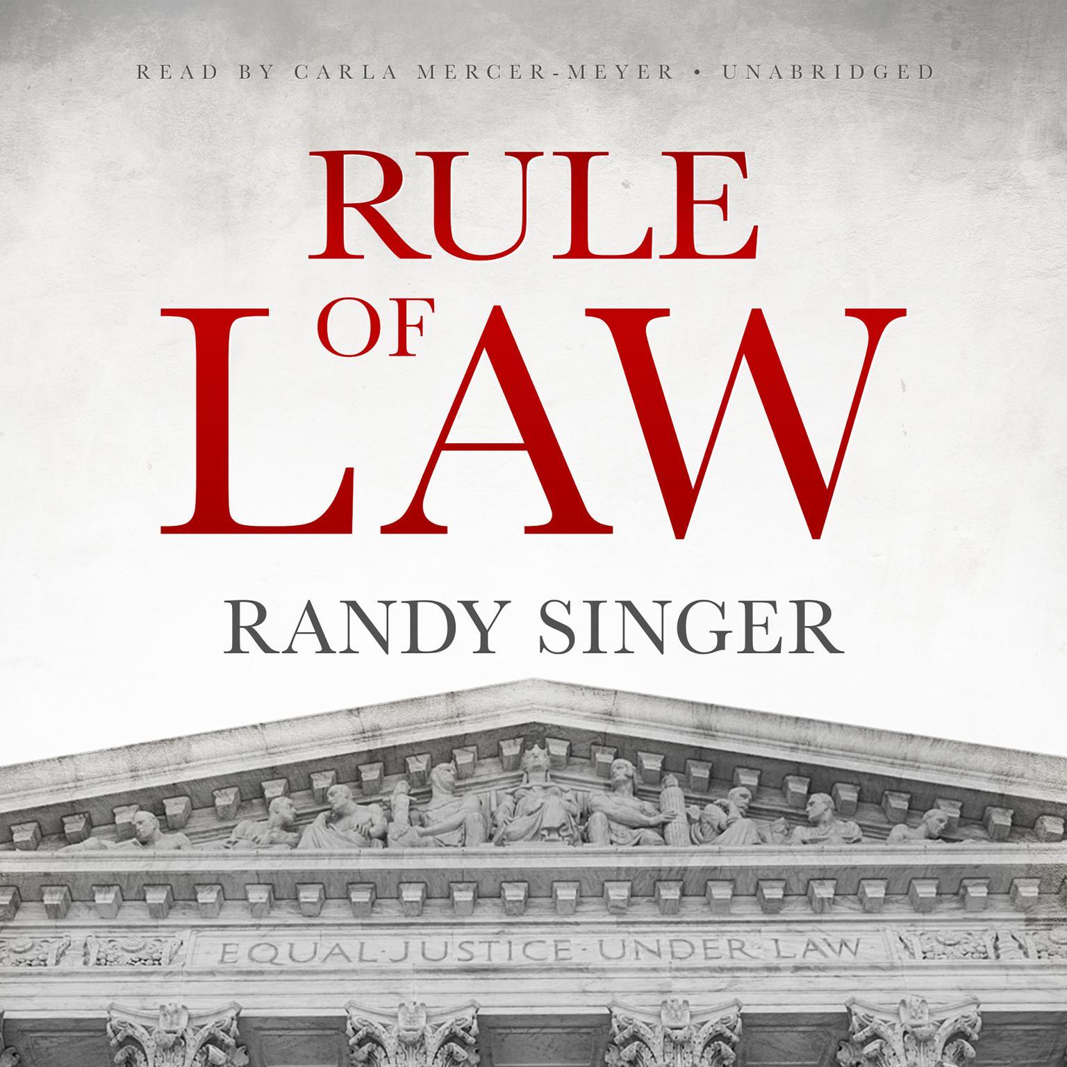 Printable Rule of Law Audiobook Cover Art