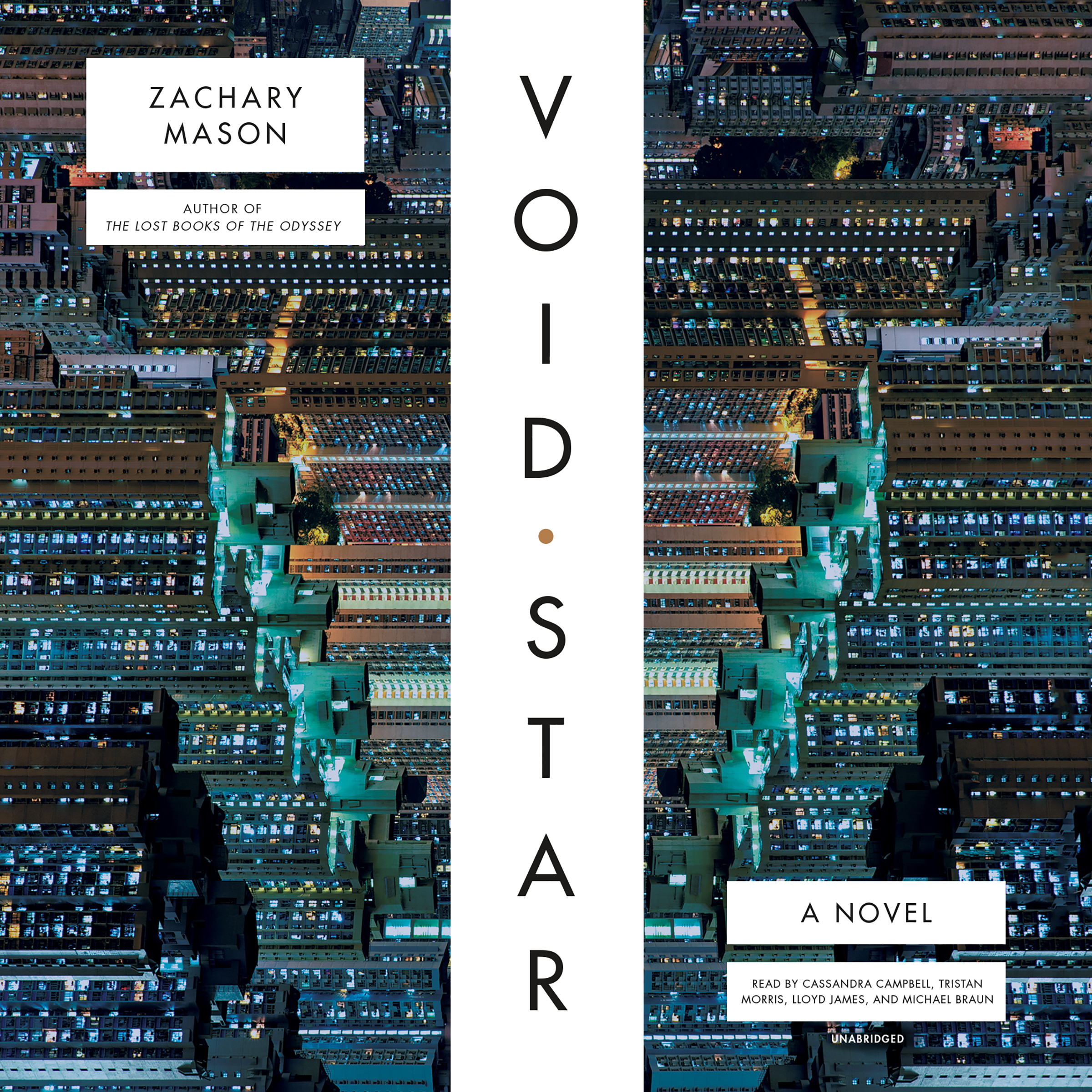 Printable Void Star Audiobook Cover Art