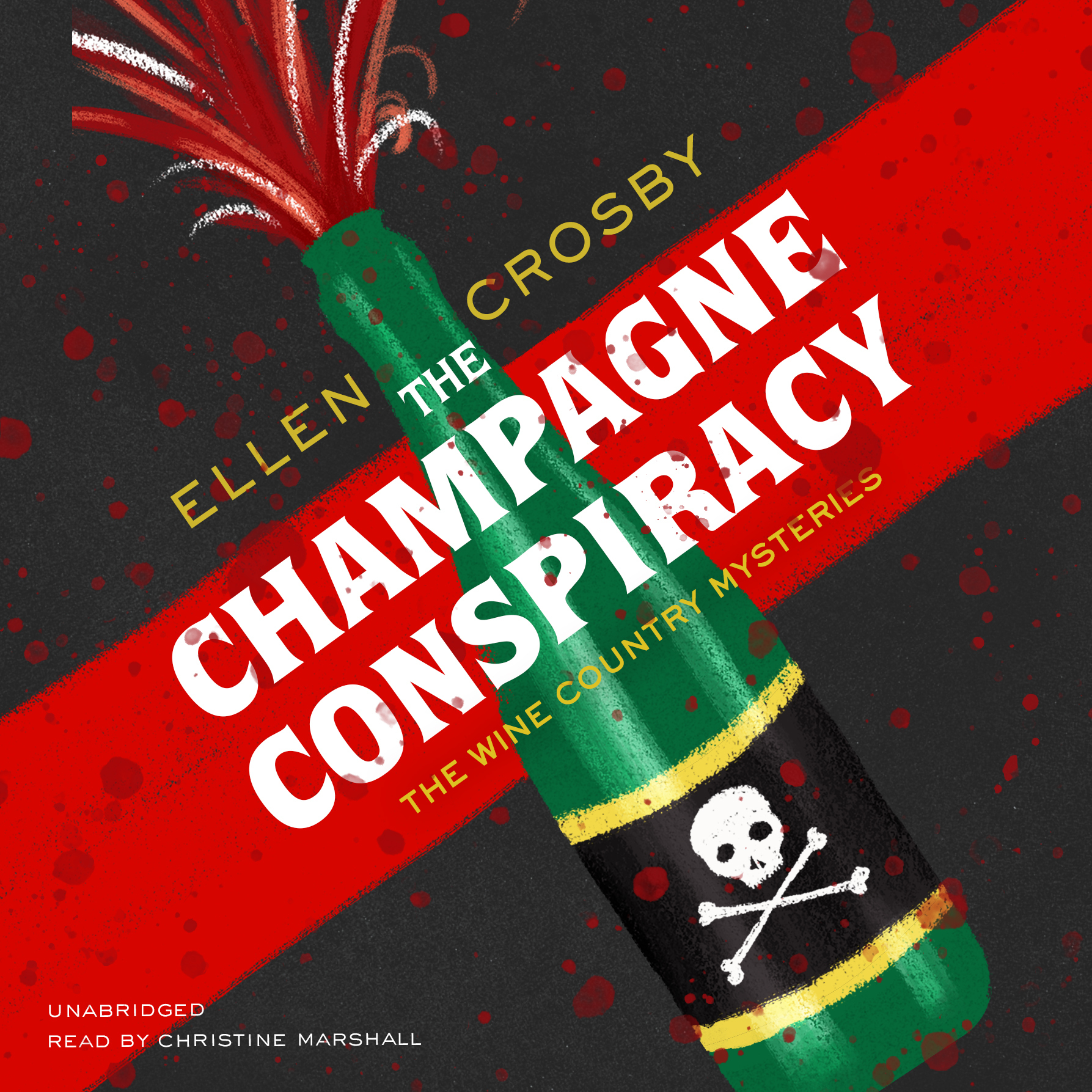 Printable The Champagne Conspiracy Audiobook Cover Art
