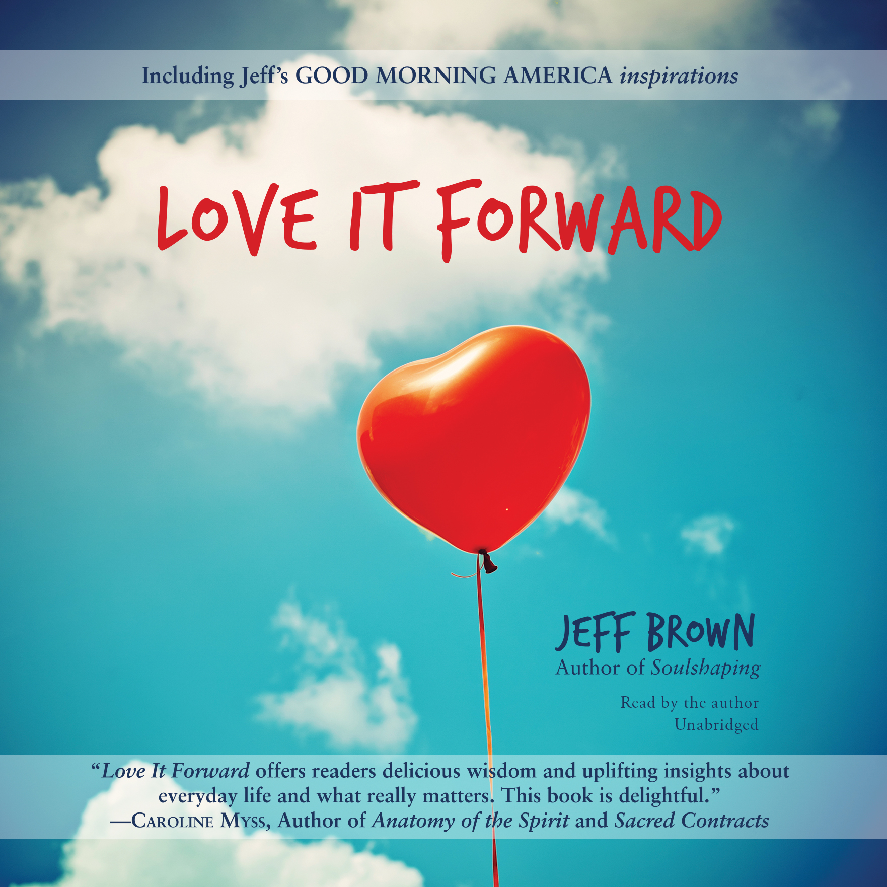 Printable Love It Forward Audiobook Cover Art