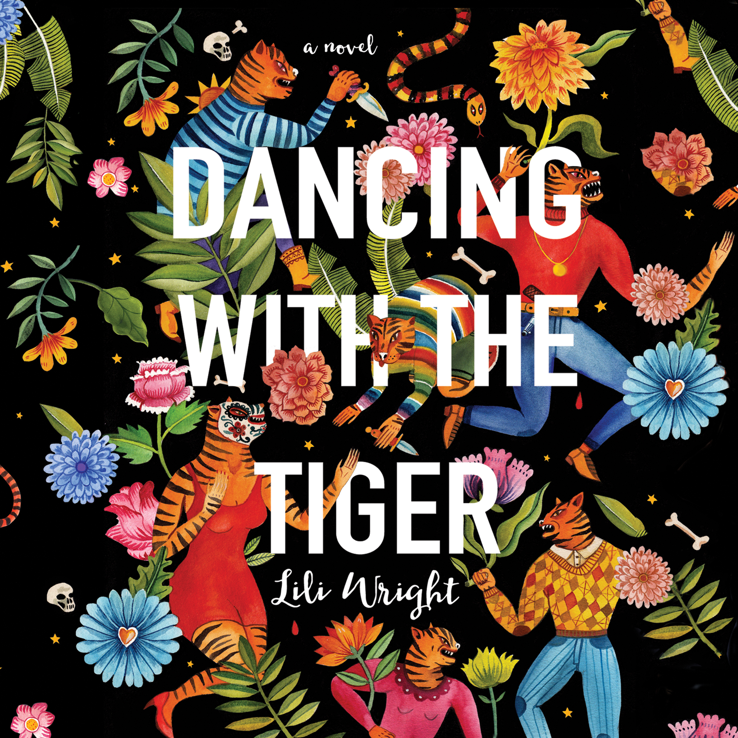 Printable Dancing with the Tiger Audiobook Cover Art