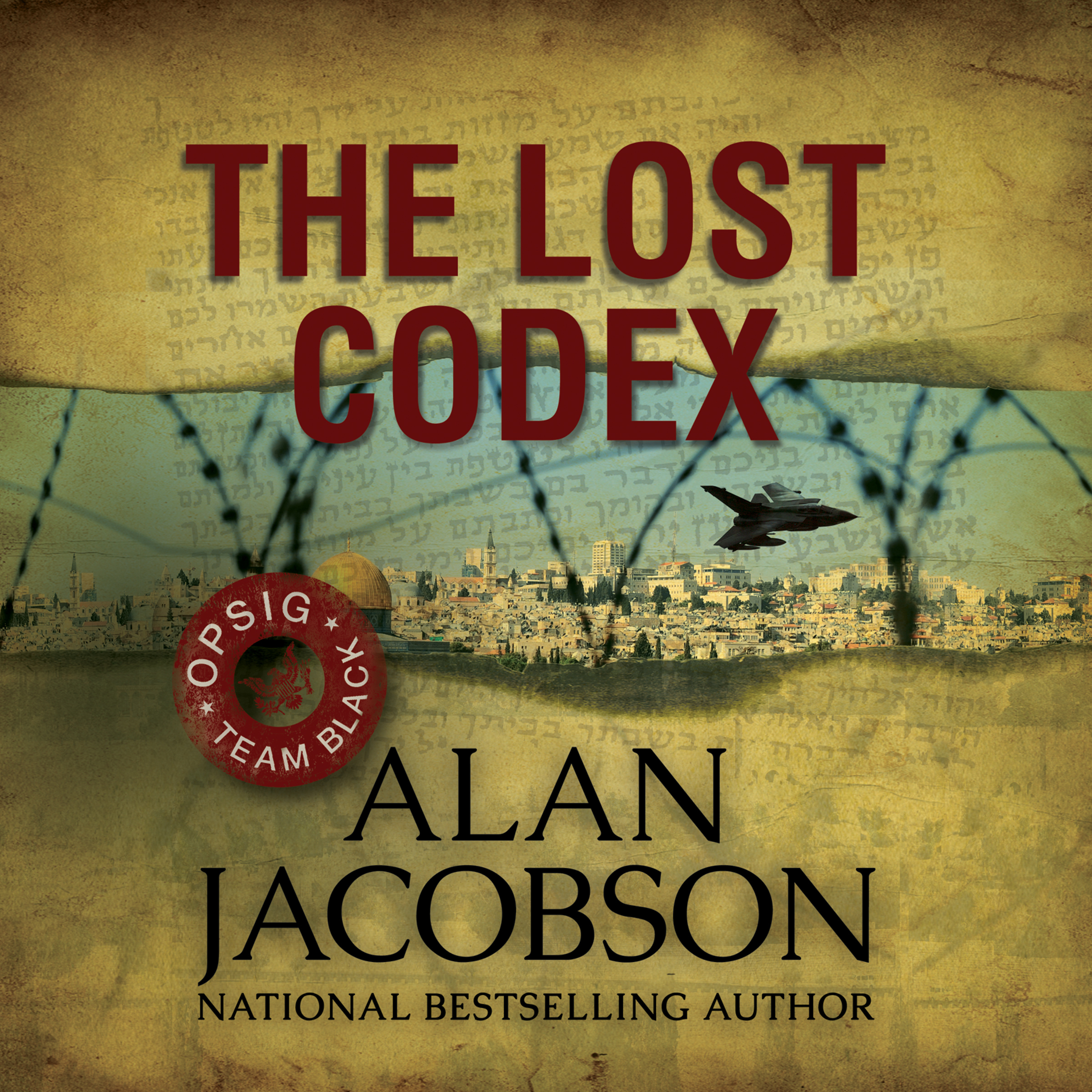 Printable The Lost Codex Audiobook Cover Art
