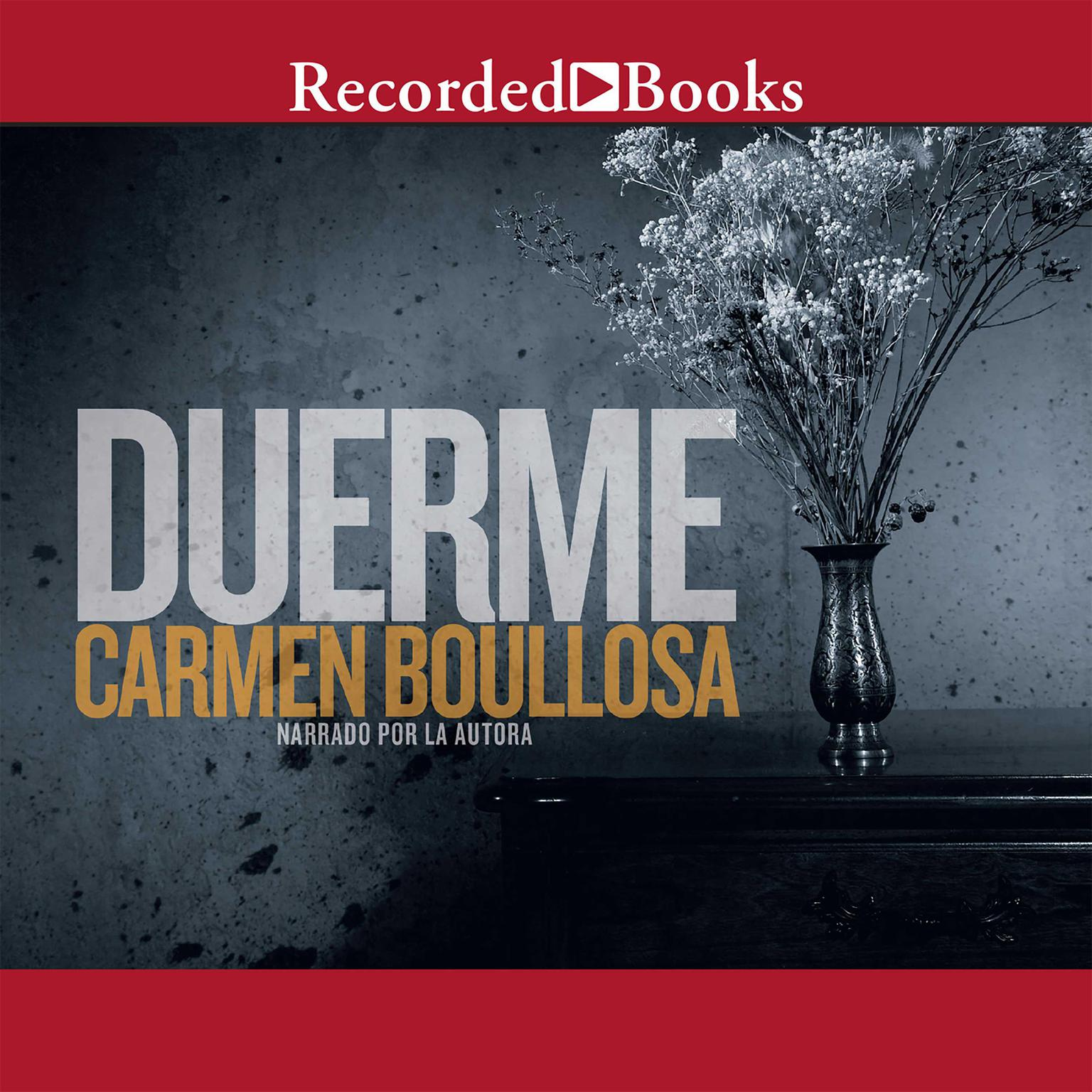 Printable Duerme Audiobook Cover Art