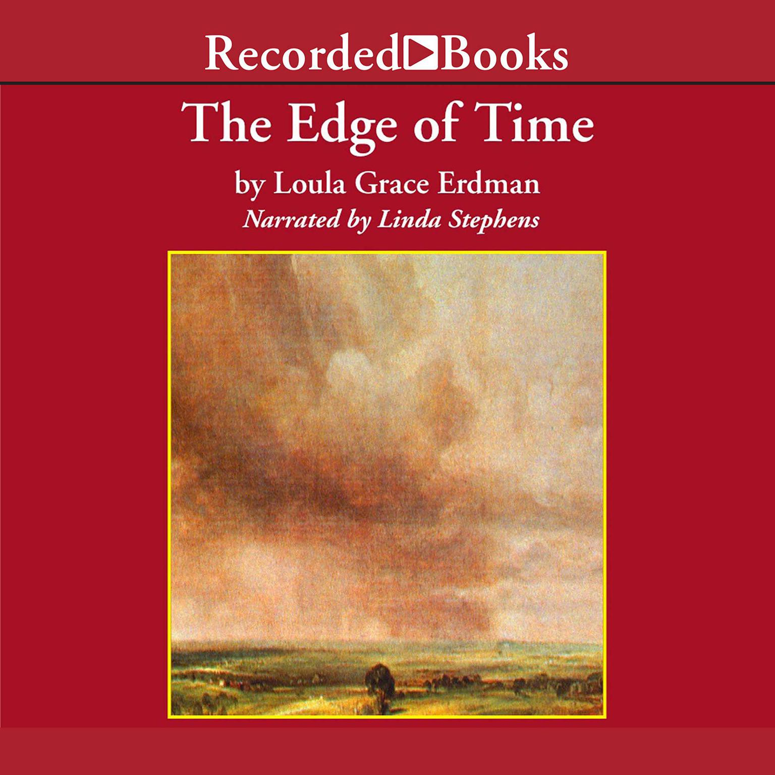Printable The Edge of Time Audiobook Cover Art