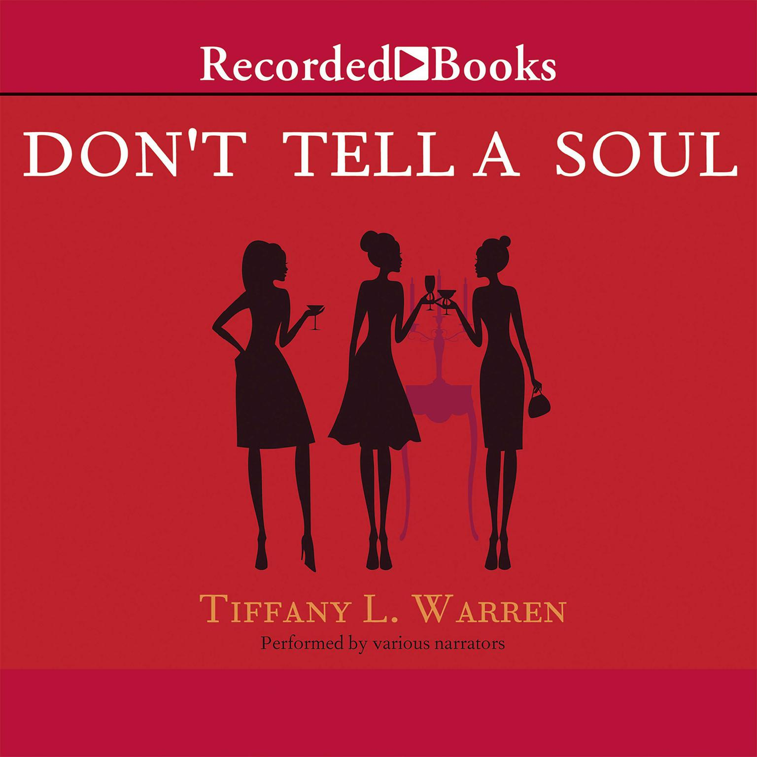 Printable Don't Tell a Soul Audiobook Cover Art