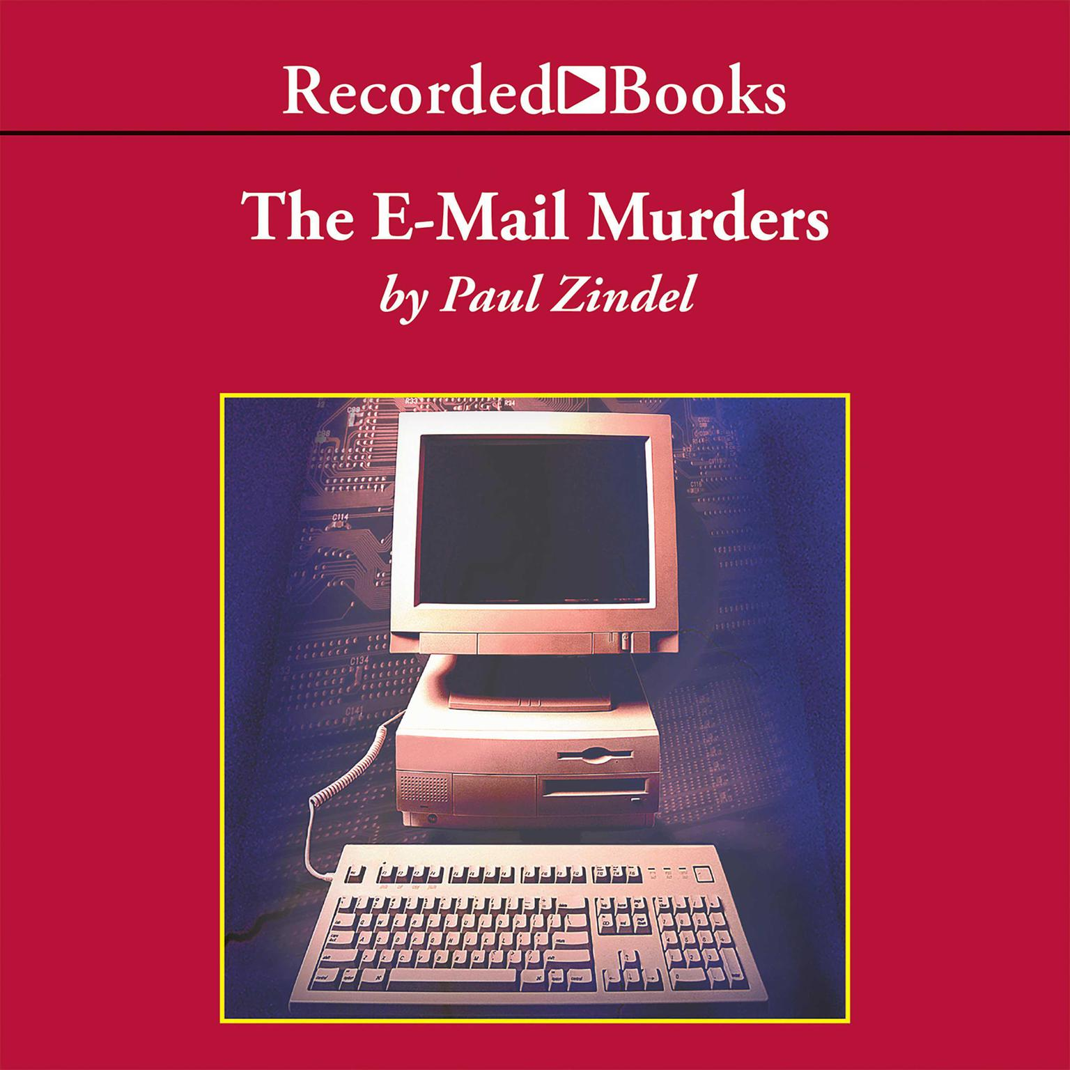 Printable The E-Mail Murders Audiobook Cover Art