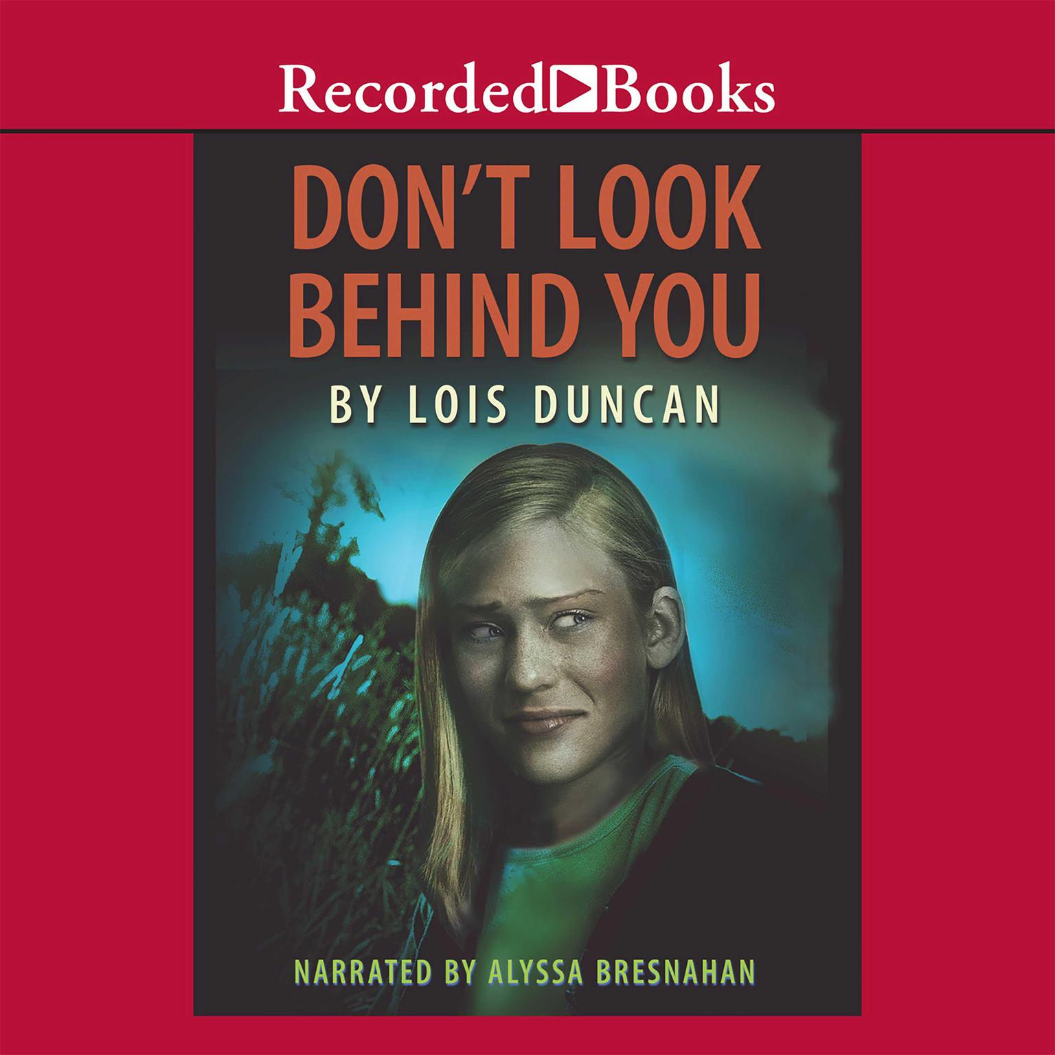 Printable Don't Look behind You Audiobook Cover Art