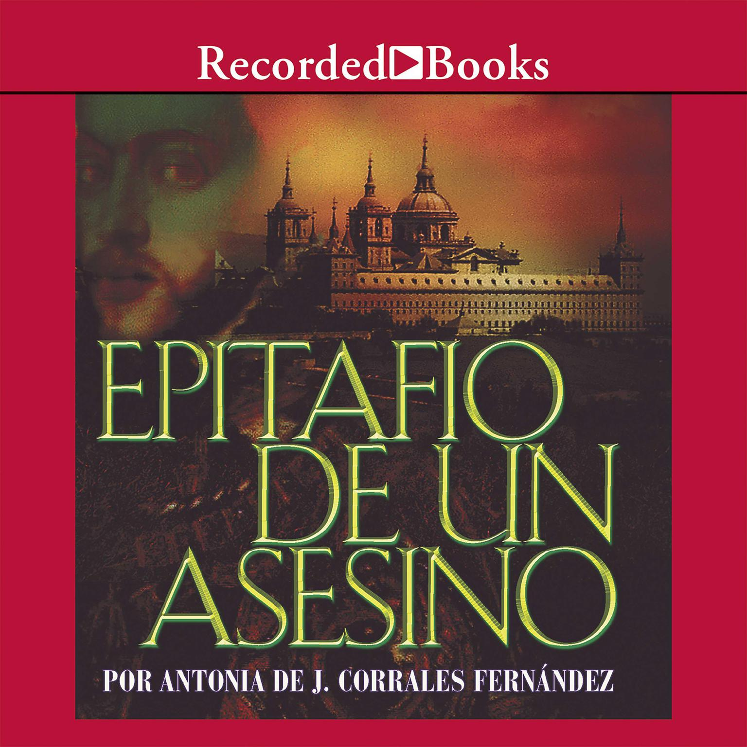 Printable Epitafio de un asesino Audiobook Cover Art