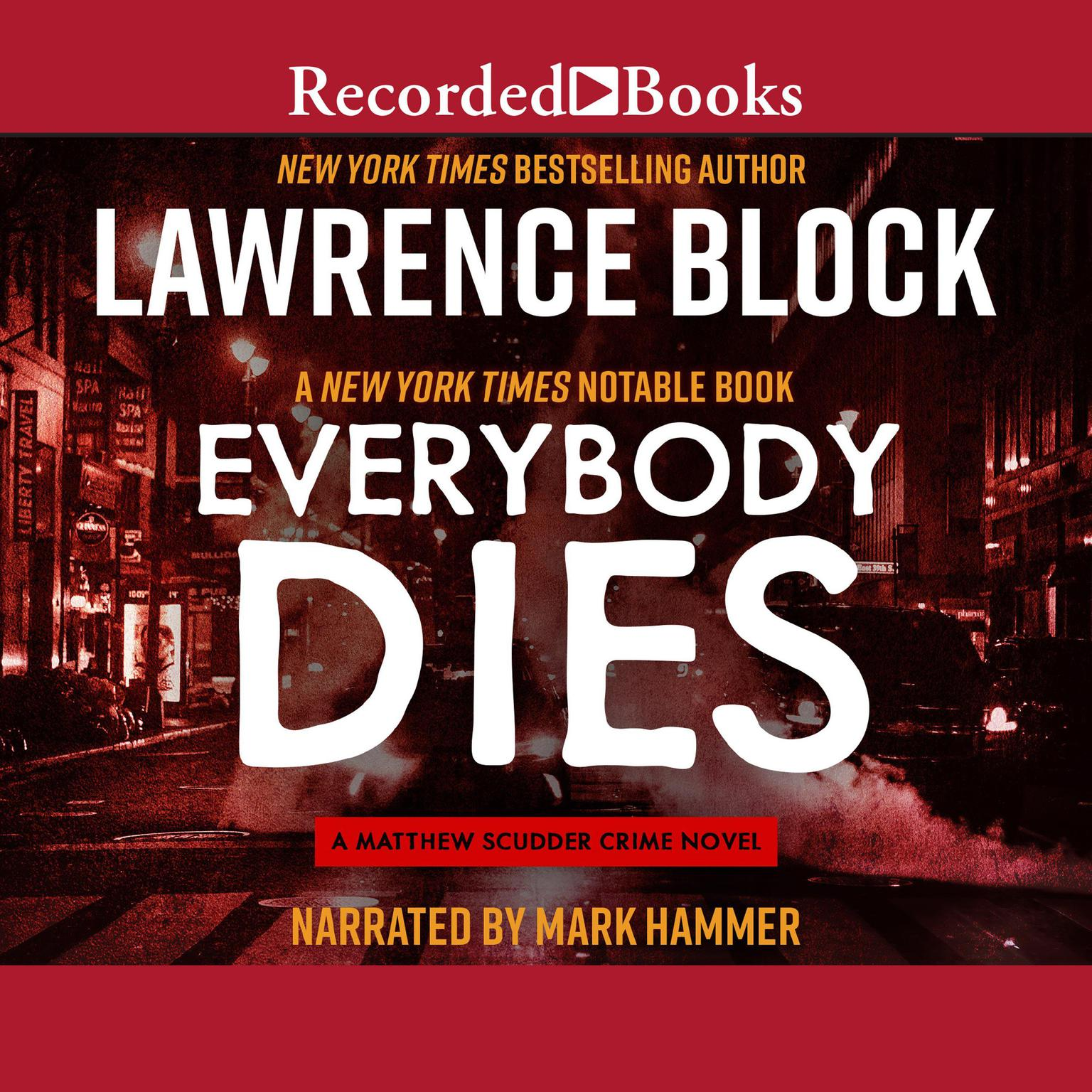 Printable Everybody Dies Audiobook Cover Art