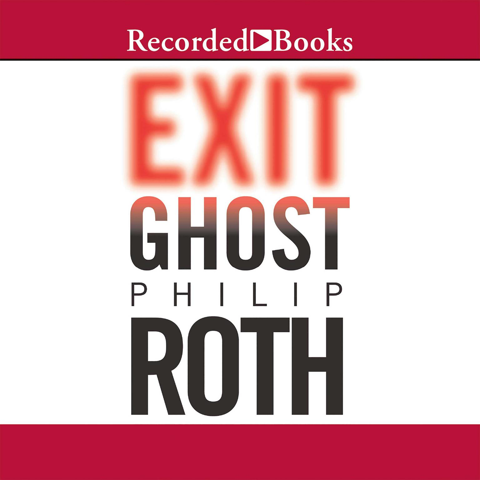Printable Exit Ghost Audiobook Cover Art