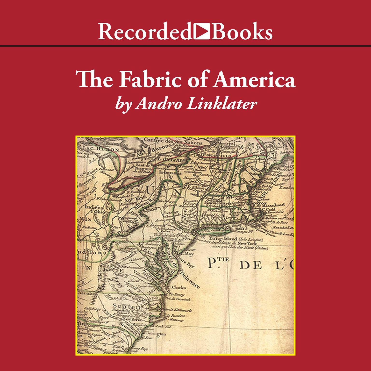 Printable Fabric of America Audiobook Cover Art