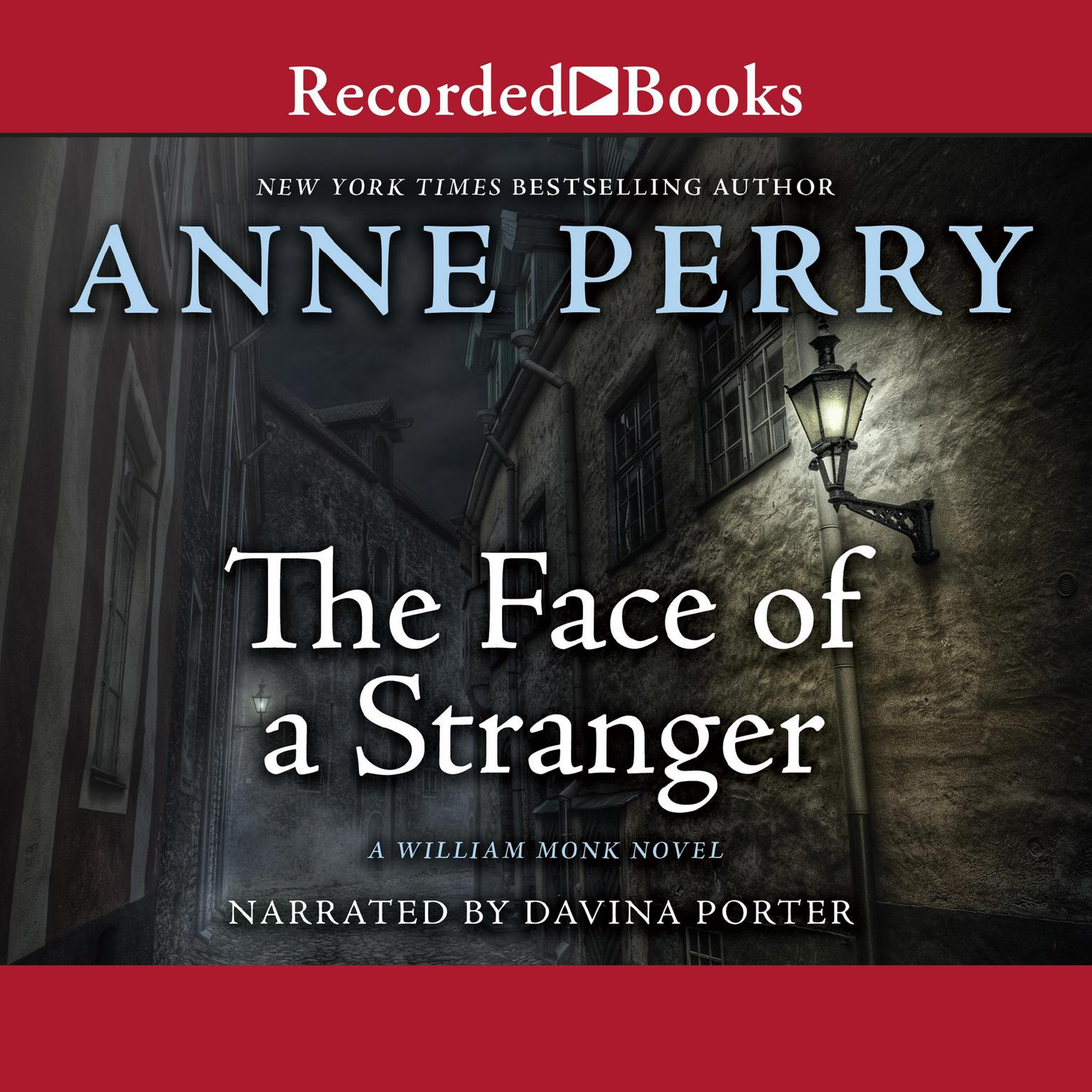 Printable The Face of a Stranger Audiobook Cover Art