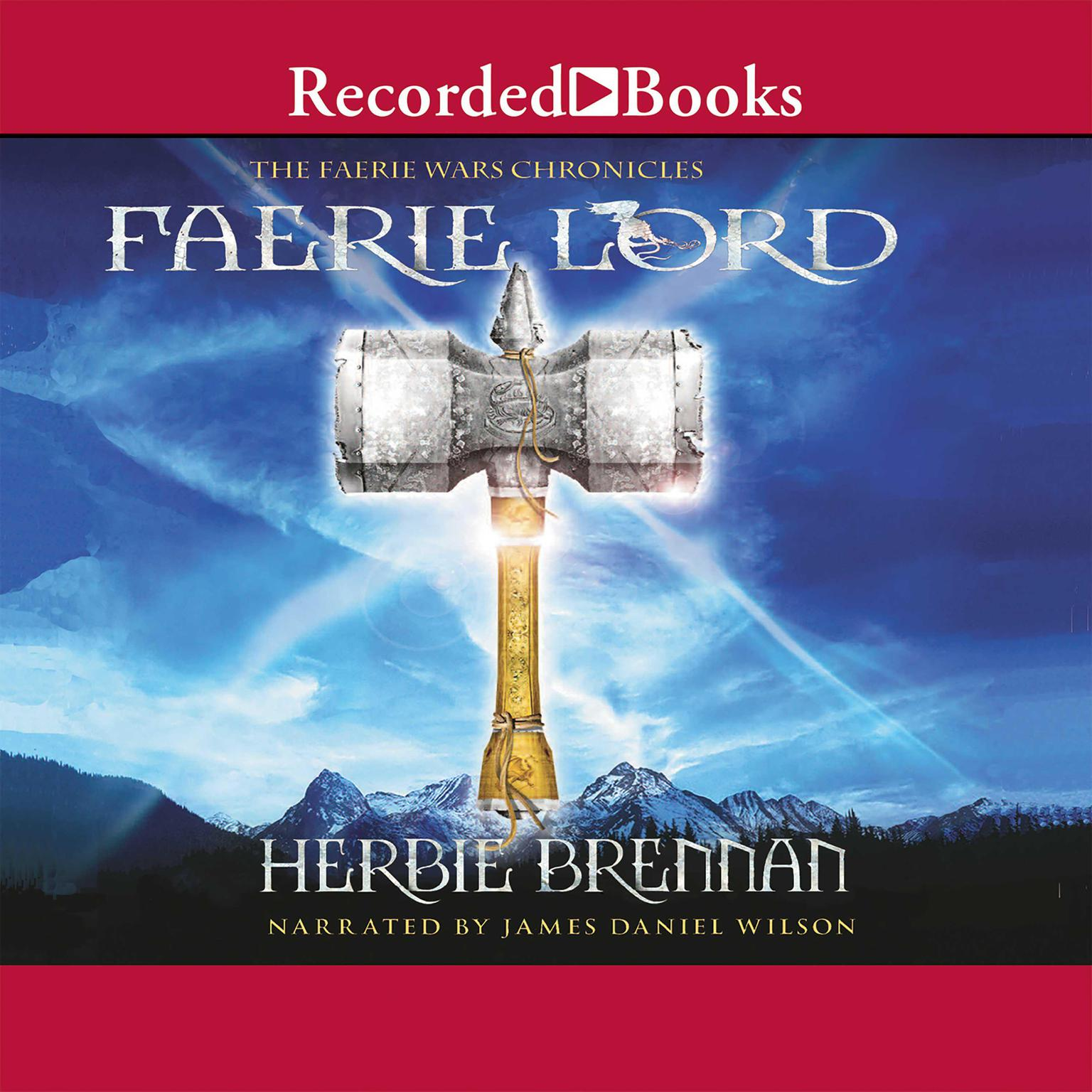 Printable Faerie Lord Audiobook Cover Art