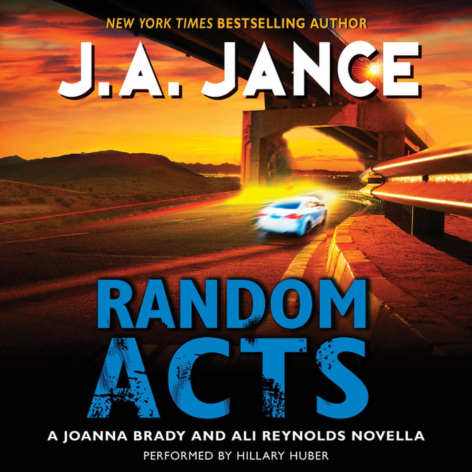 Printable Random Acts: A Joanna Brady and Ali Reynolds Novella Audiobook Cover Art