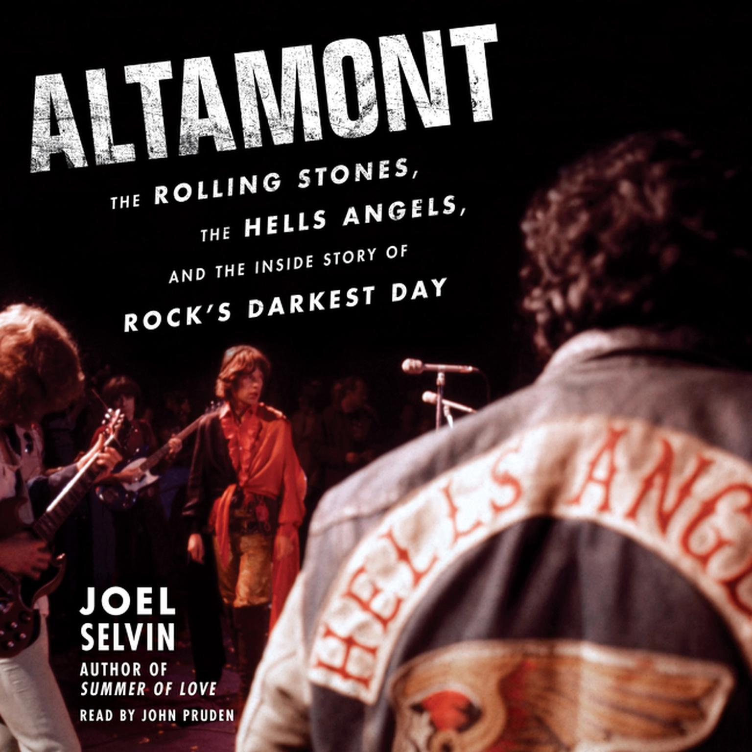 Printable Altamont: The Rolling Stones, the Hells Angels, and the Inside Story of Rock's Darkest Day Audiobook Cover Art