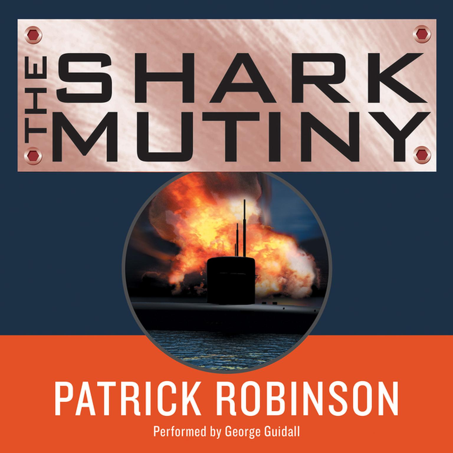 Printable The Shark Mutiny Audiobook Cover Art