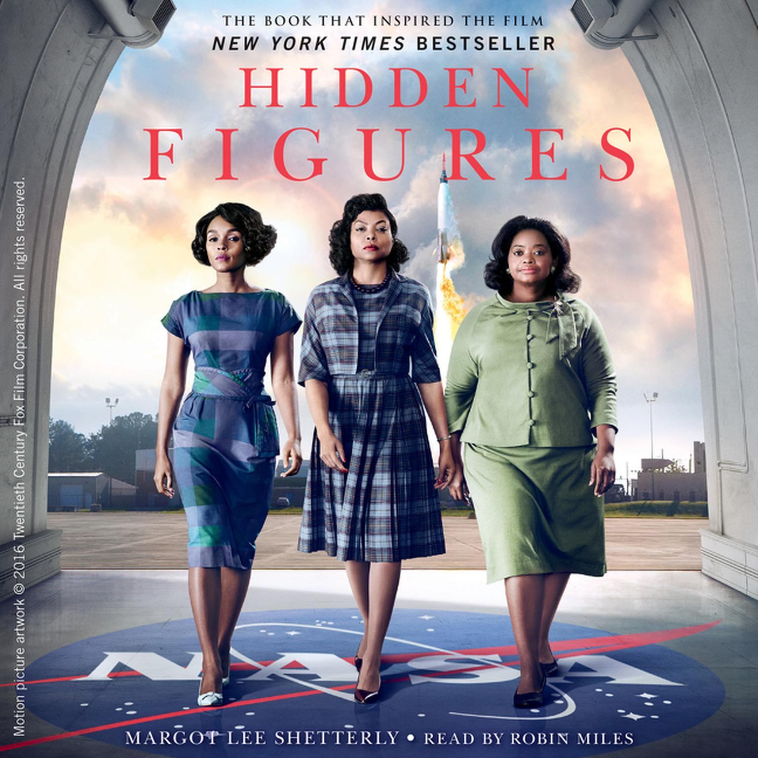 Printable Hidden Figures: The American Dream and the Untold Story of the Black Women Mathematicians Who Helped Win the Space Race Audiobook Cover Art