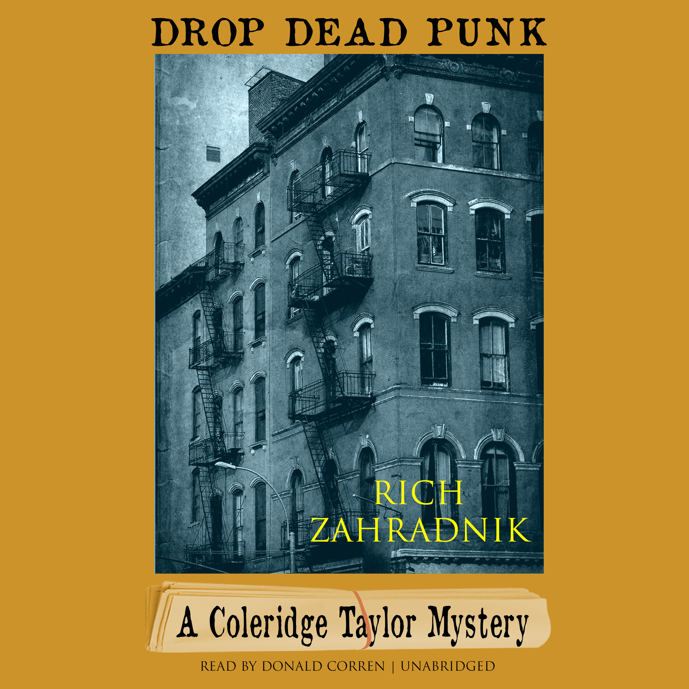 Printable Drop Dead Punk: A Coleridge Taylor Mystery Audiobook Cover Art