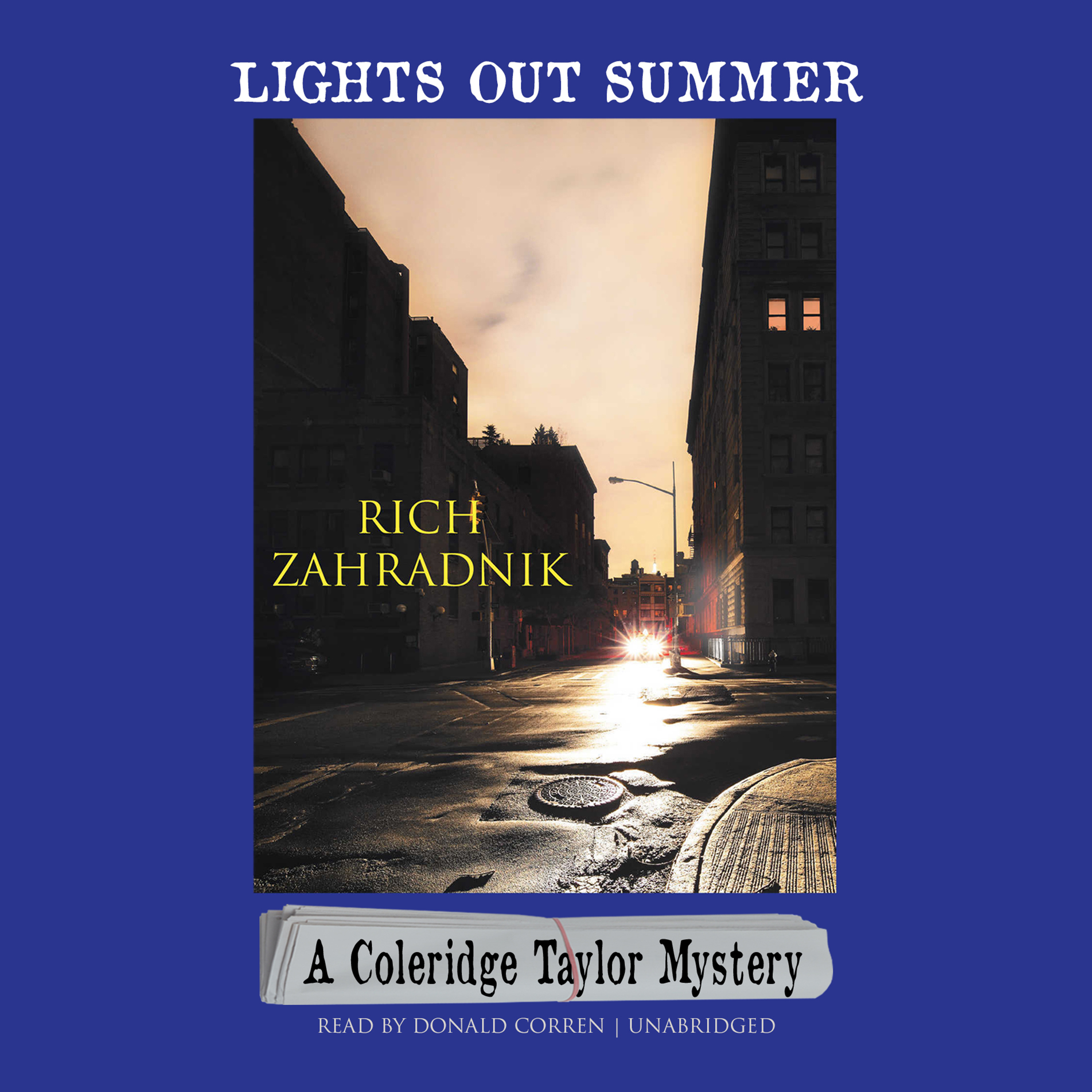 Printable Lights Out Summer: A Coleridge Taylor Mystery Audiobook Cover Art