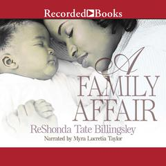 A Family Affair Audiobook, by ReShonda Tate Billingsley
