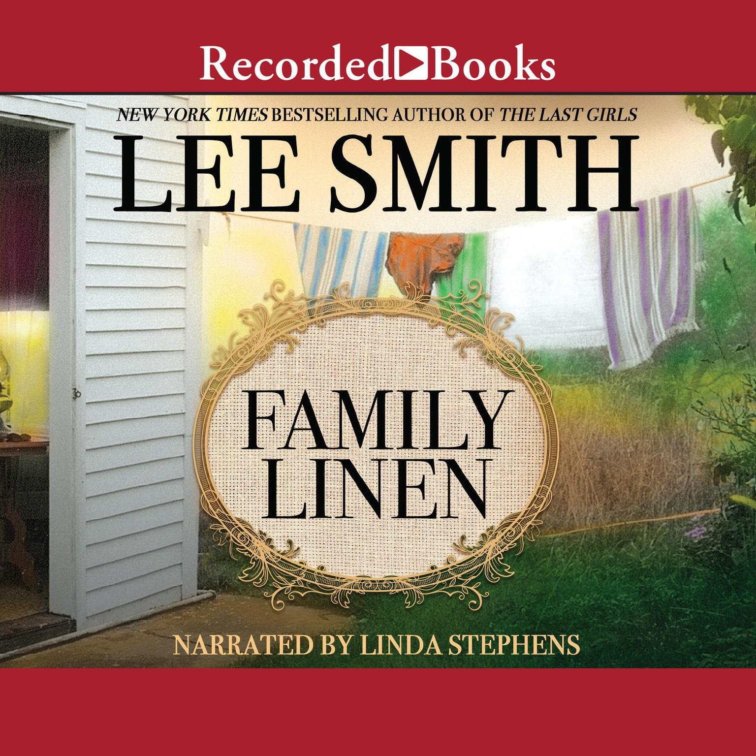 Printable Family Linen Audiobook Cover Art