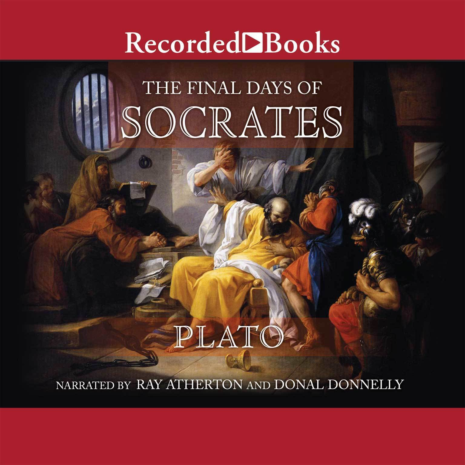 Printable The Final Days of Socrates Audiobook Cover Art