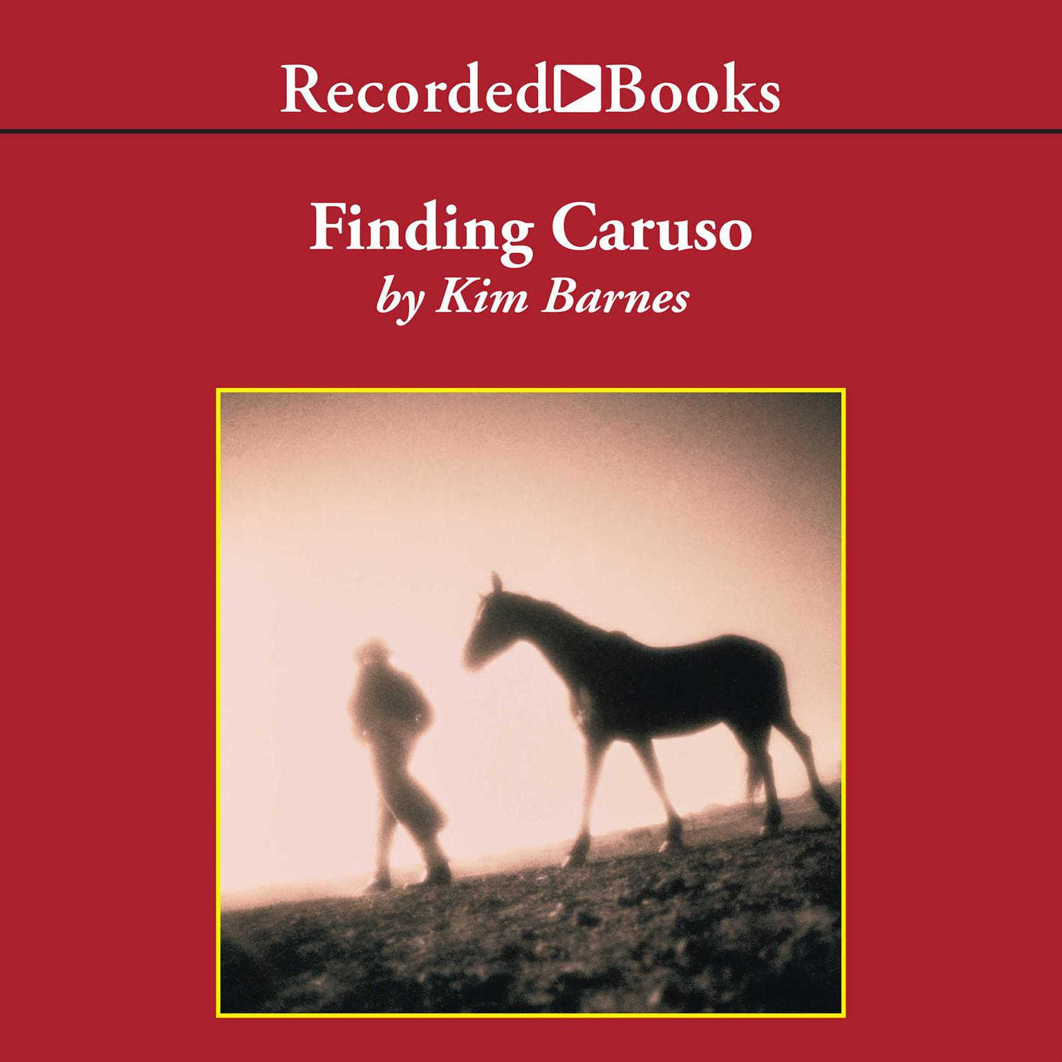 Printable Finding Caruso Audiobook Cover Art
