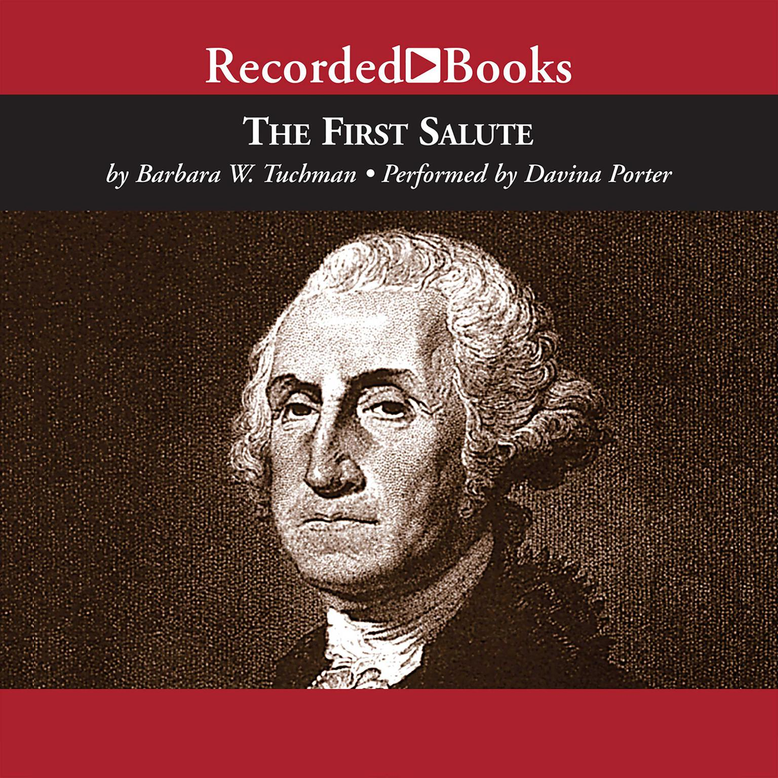 Printable The First Salute: A View of the American Revolution Audiobook Cover Art