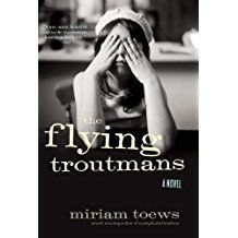 Printable The Flying Troutmans Audiobook Cover Art