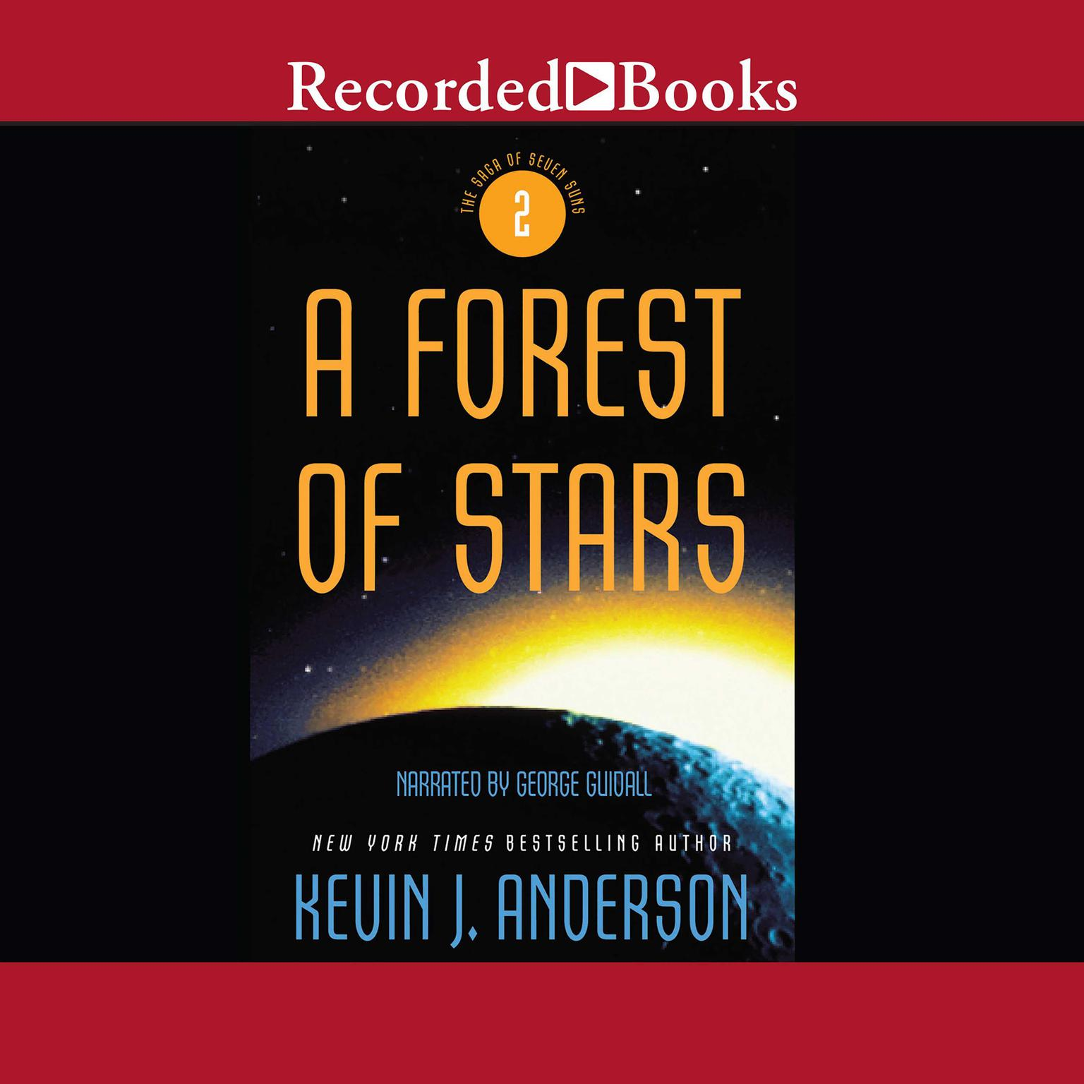 Printable A Forest of Stars Audiobook Cover Art