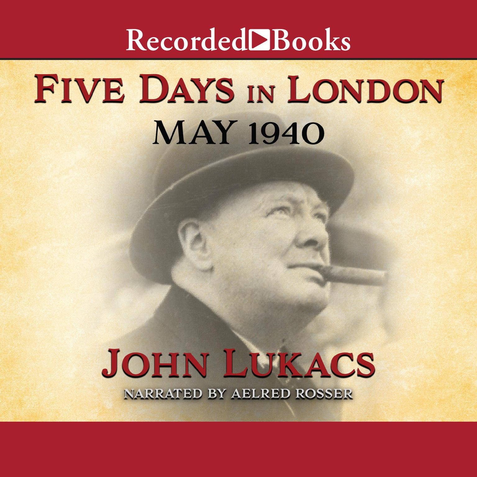 Printable Five Days in London: May 1940 Audiobook Cover Art