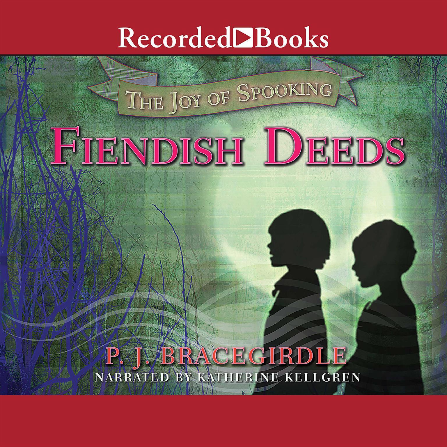 Printable Fiendish Deeds Audiobook Cover Art
