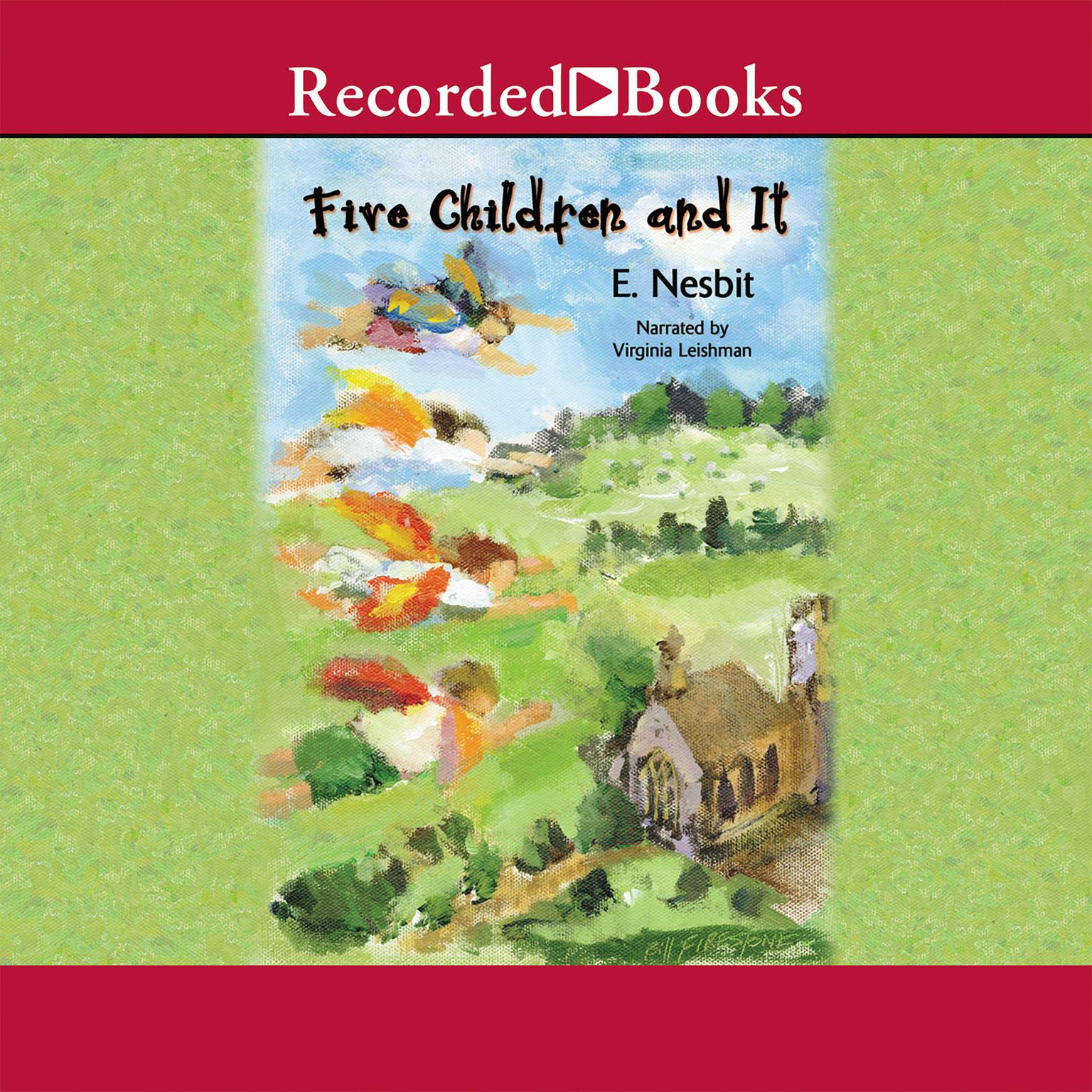 Printable Five Children and It Audiobook Cover Art