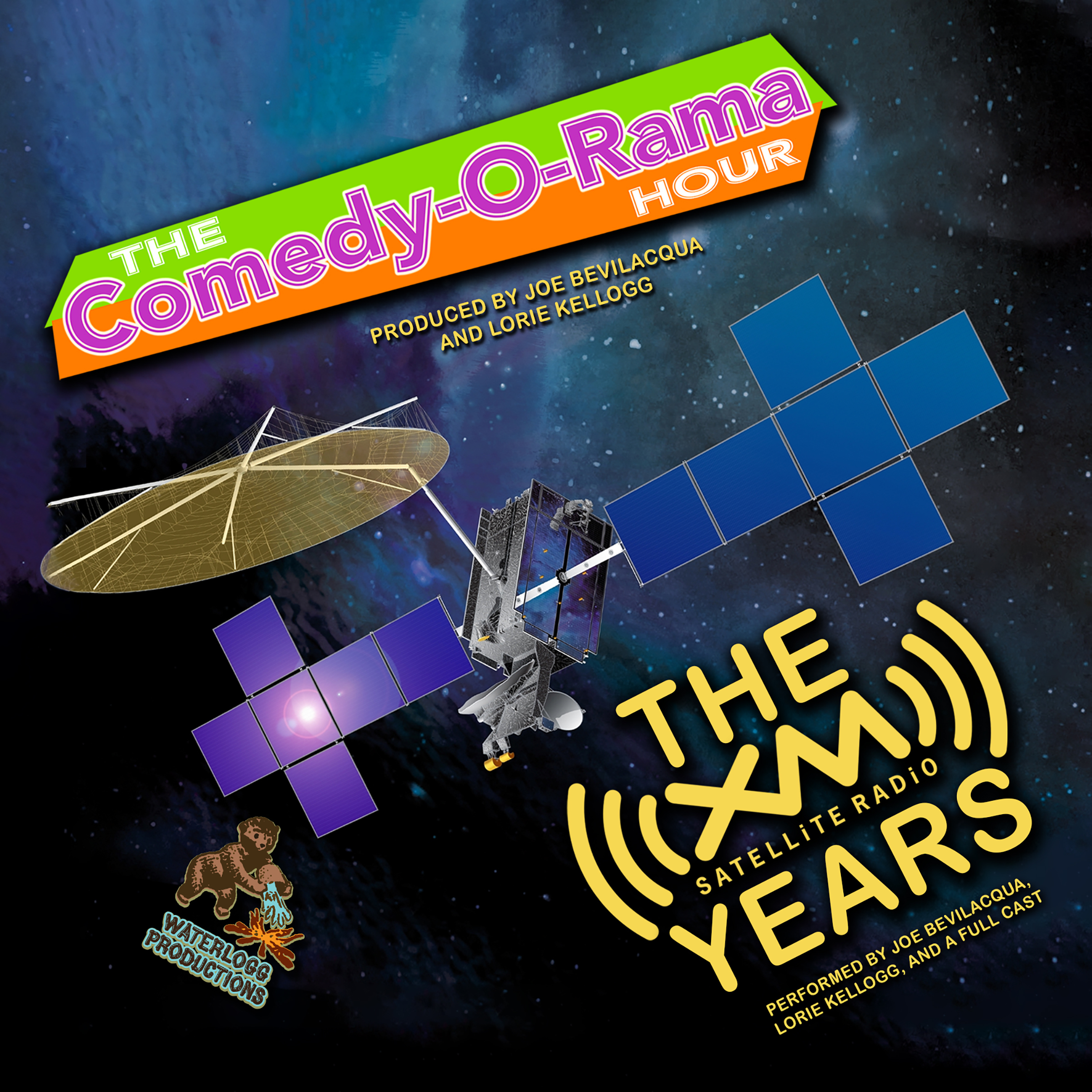 Printable The Comedy-O-Rama Hour: The XM Satellite Years Audiobook Cover Art