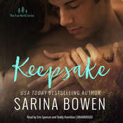 Keepsake Audiobook, by Sarina Bowen