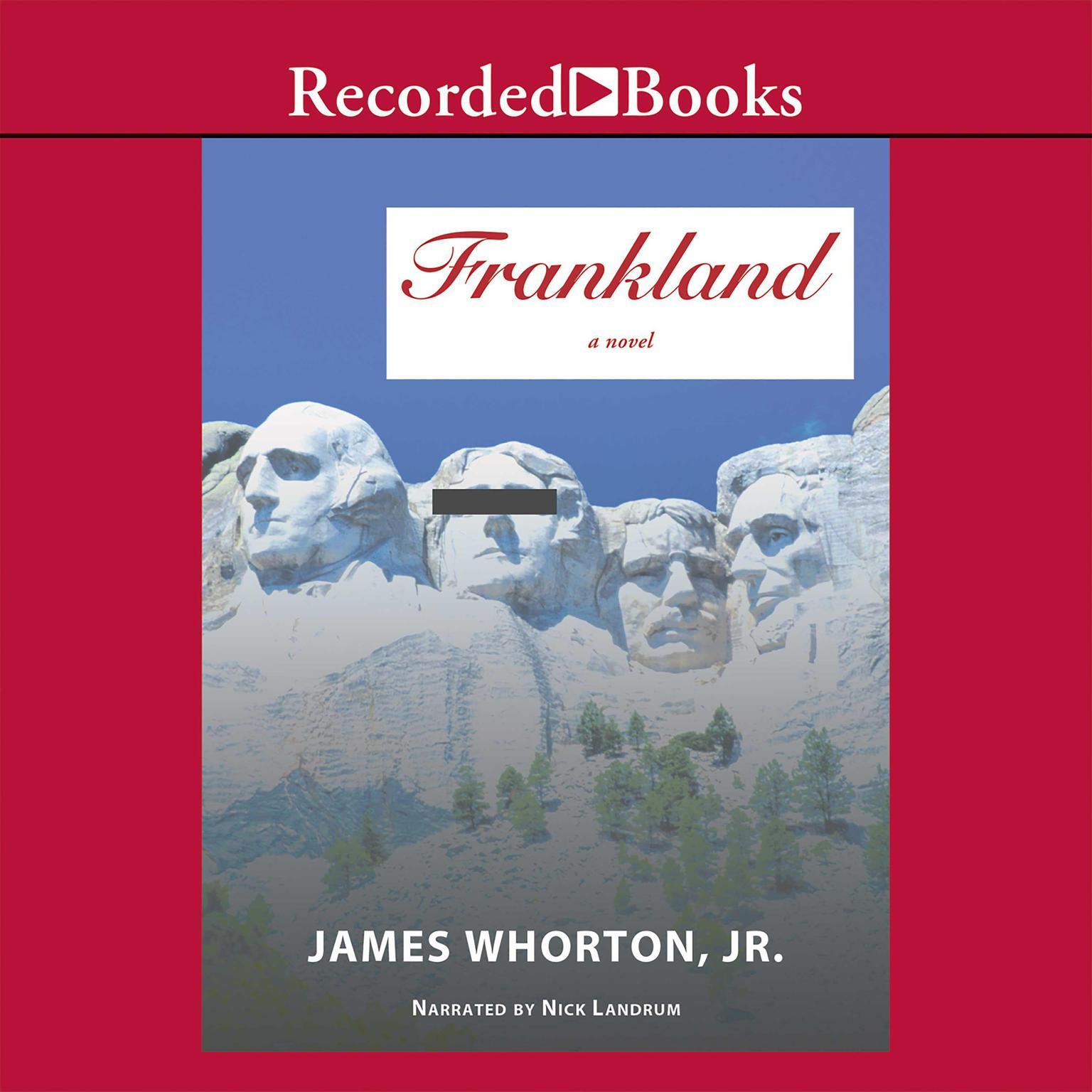 Printable Frankland: A Novel Audiobook Cover Art
